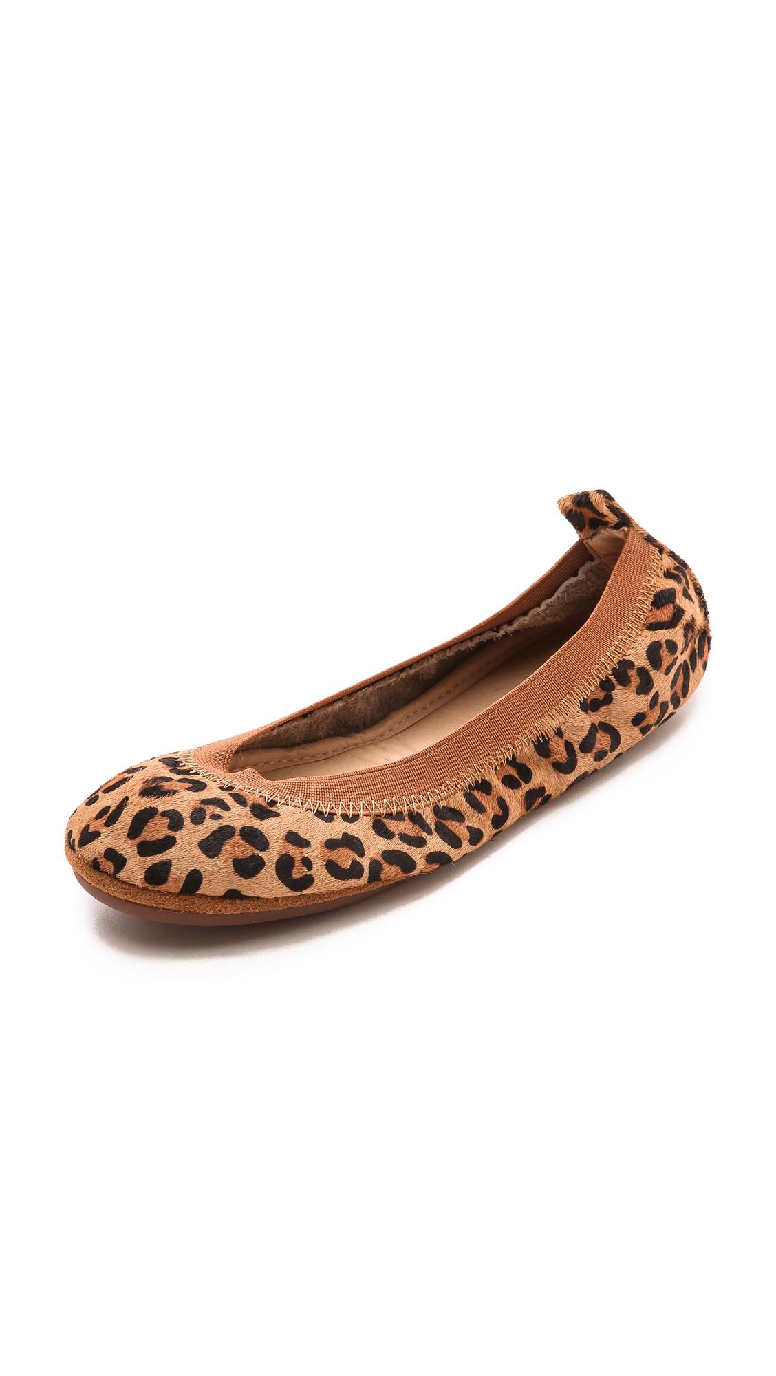 Yosi samra Samara Leopard Haircalf Flats in Animal ...