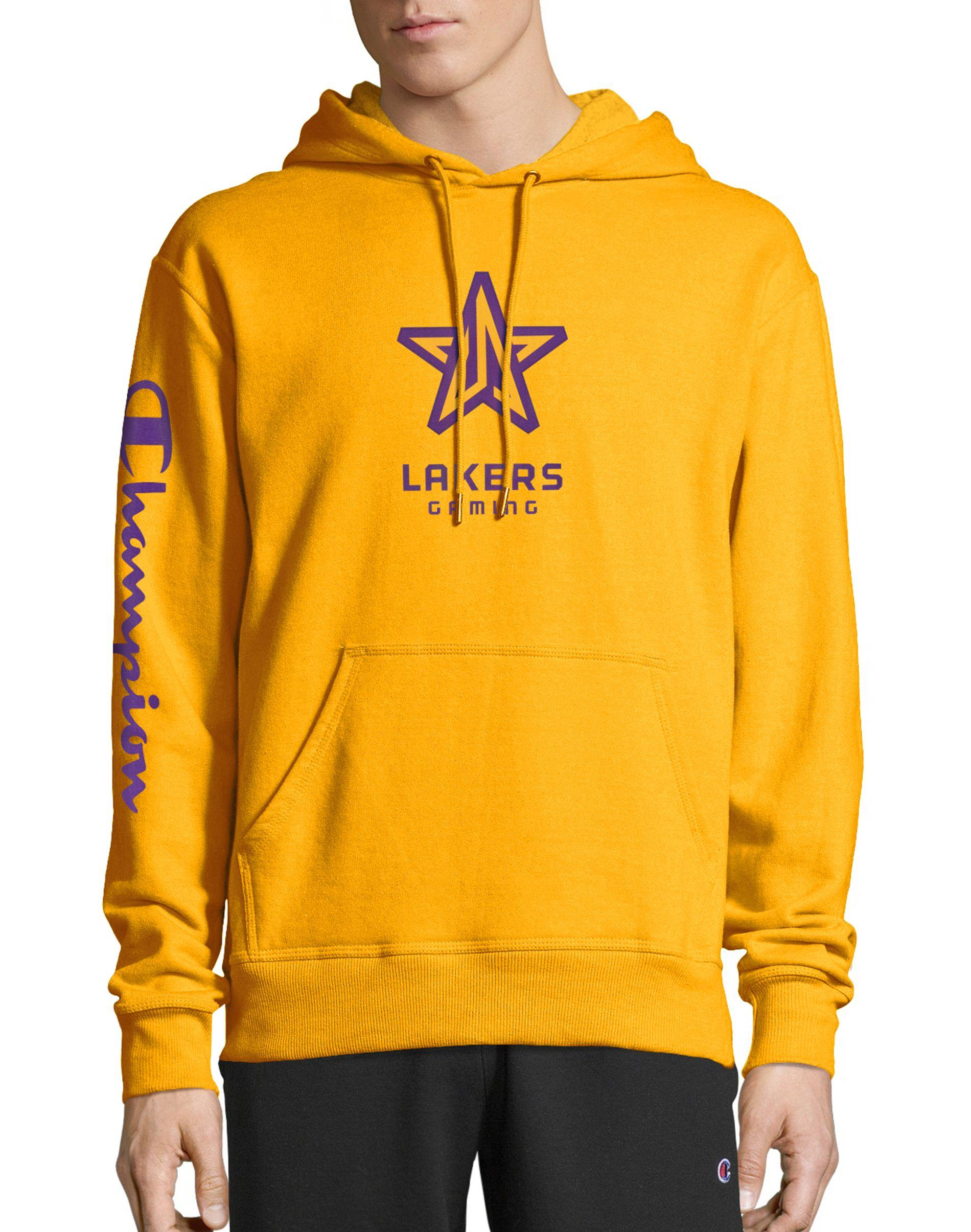 Champion Fleece Exclusive Nba 2k Los Angeles Lakers Gaming ...