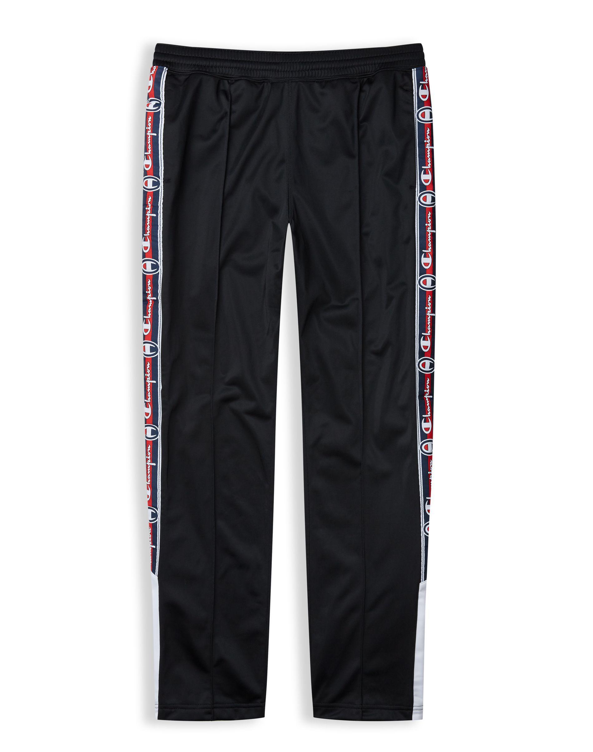 0a885340ba4a4 Champion Black Europe Premium Tearaway Pants for men