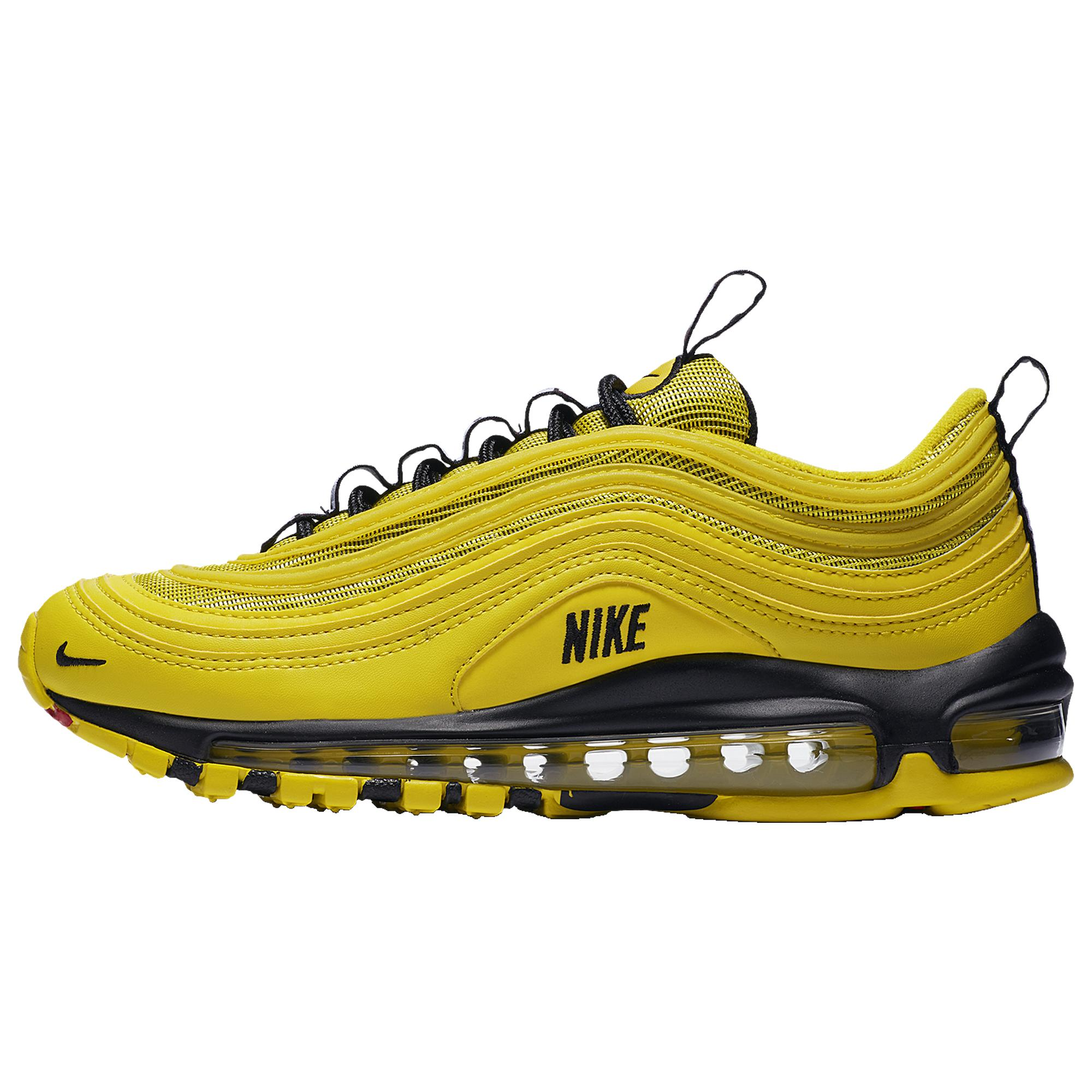 b00d35af Men's Yellow Air Max 97 Running Shoes