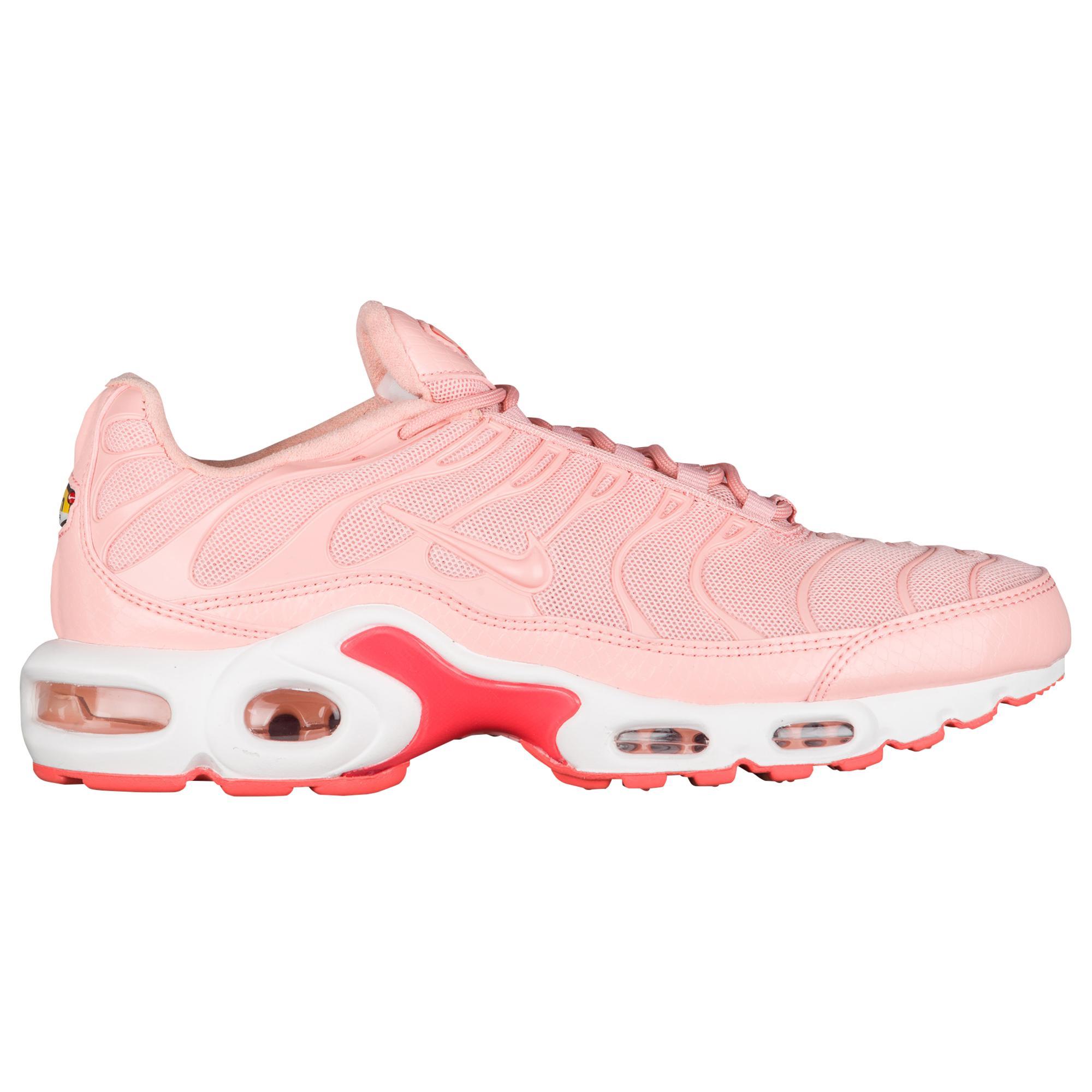 nike air max plus womens pink