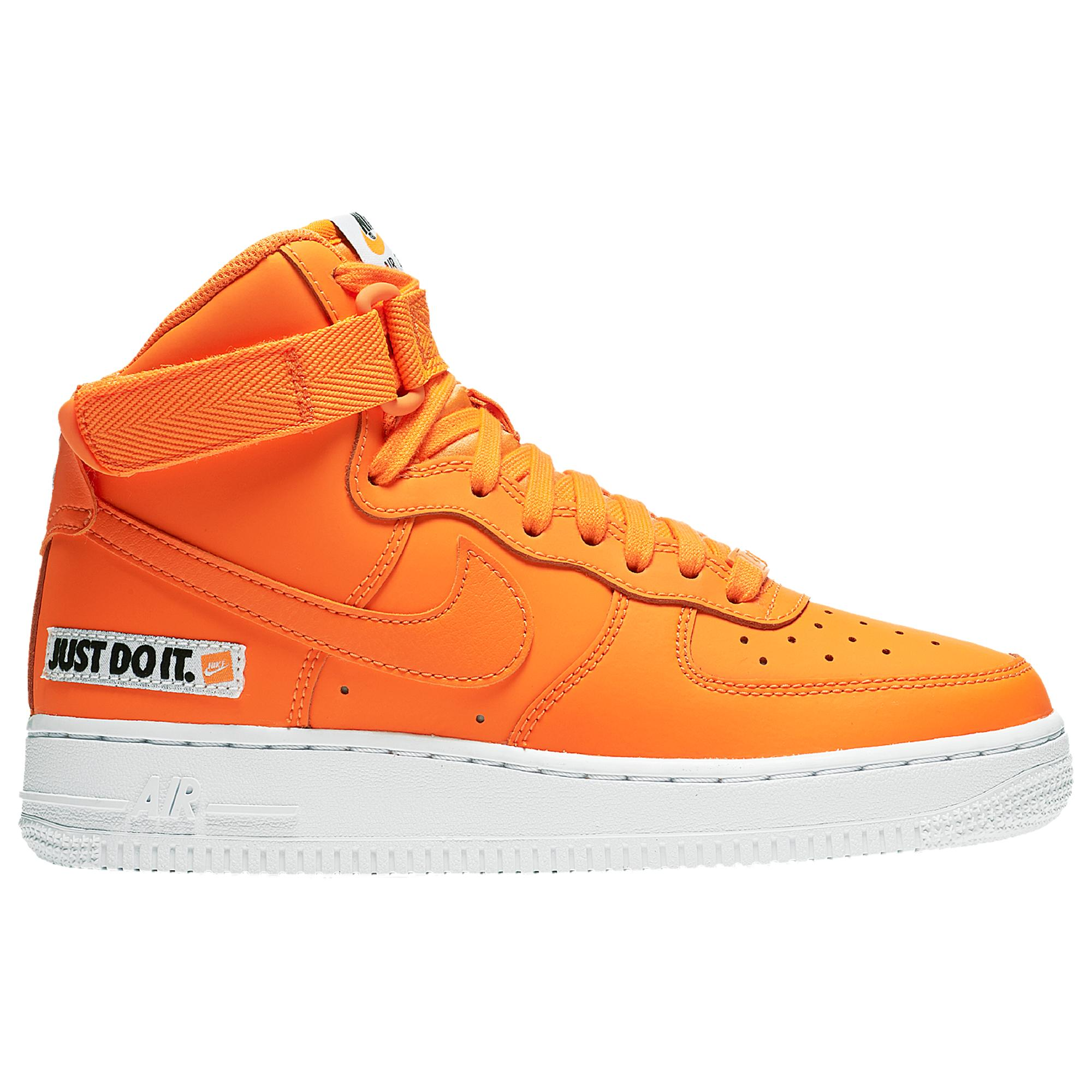 Air Force 1 High Just Do It Pack Orange