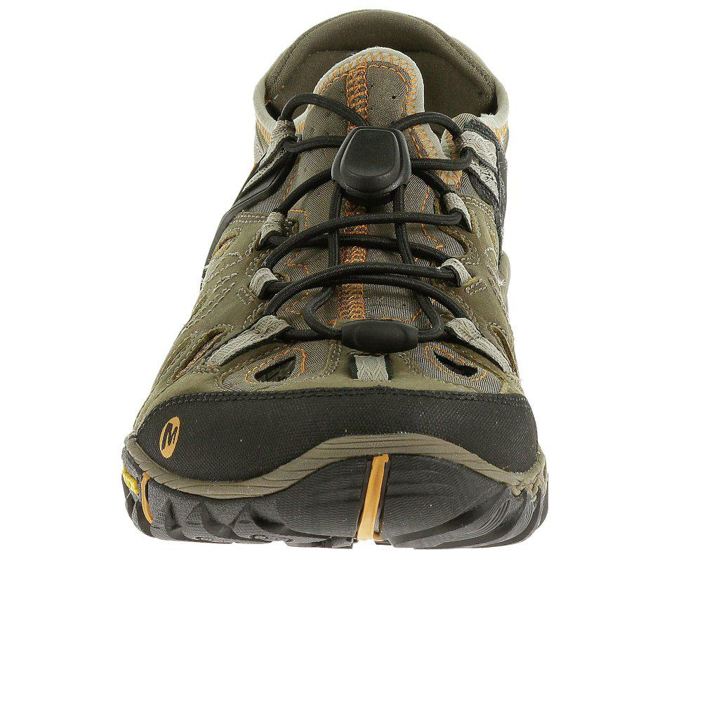 Merrell Leather All Out Blaze Sieve Mens Hiking Shoes for Men