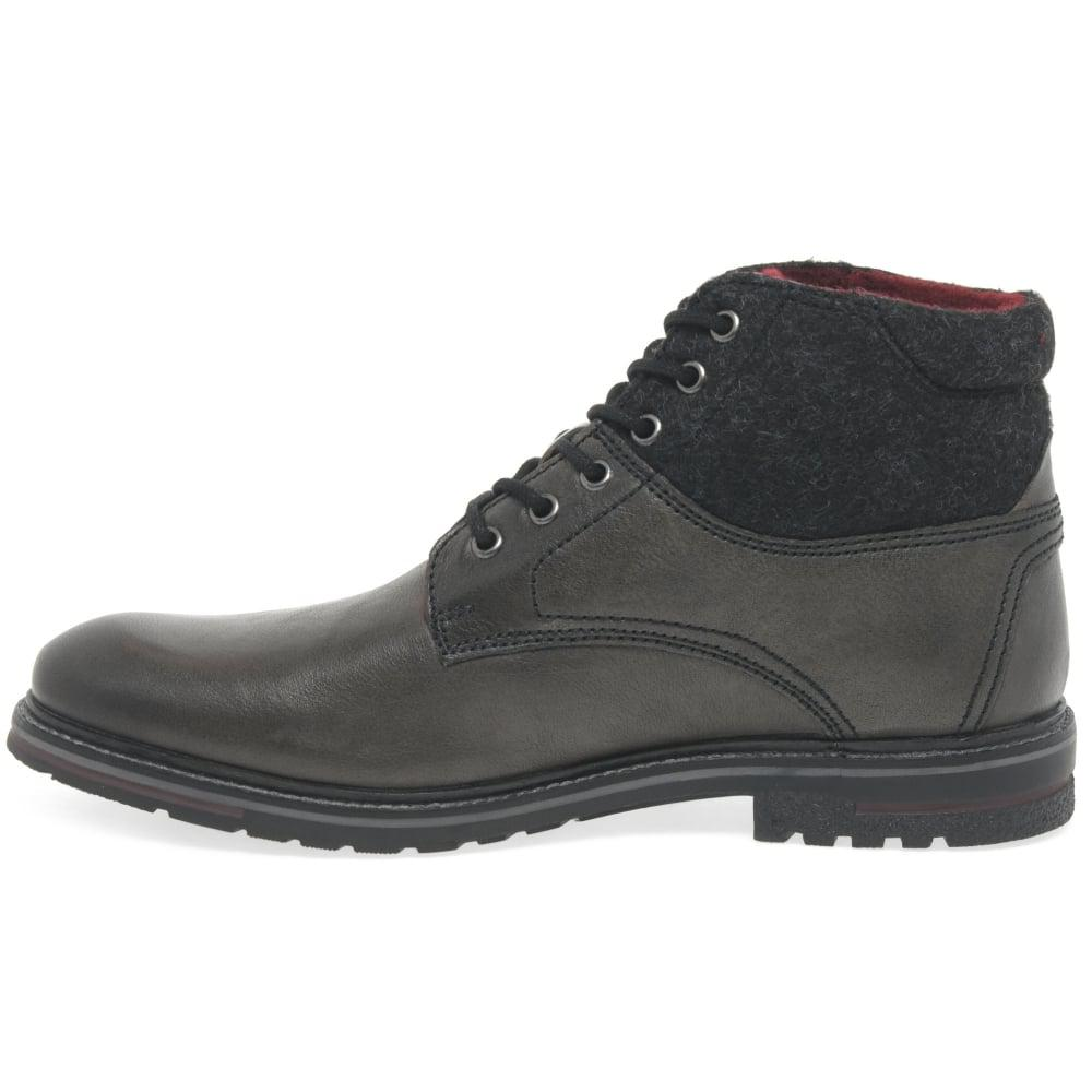 Lyst Bugatti Zac Mens Casual Lace Up Boots In Gray For Men