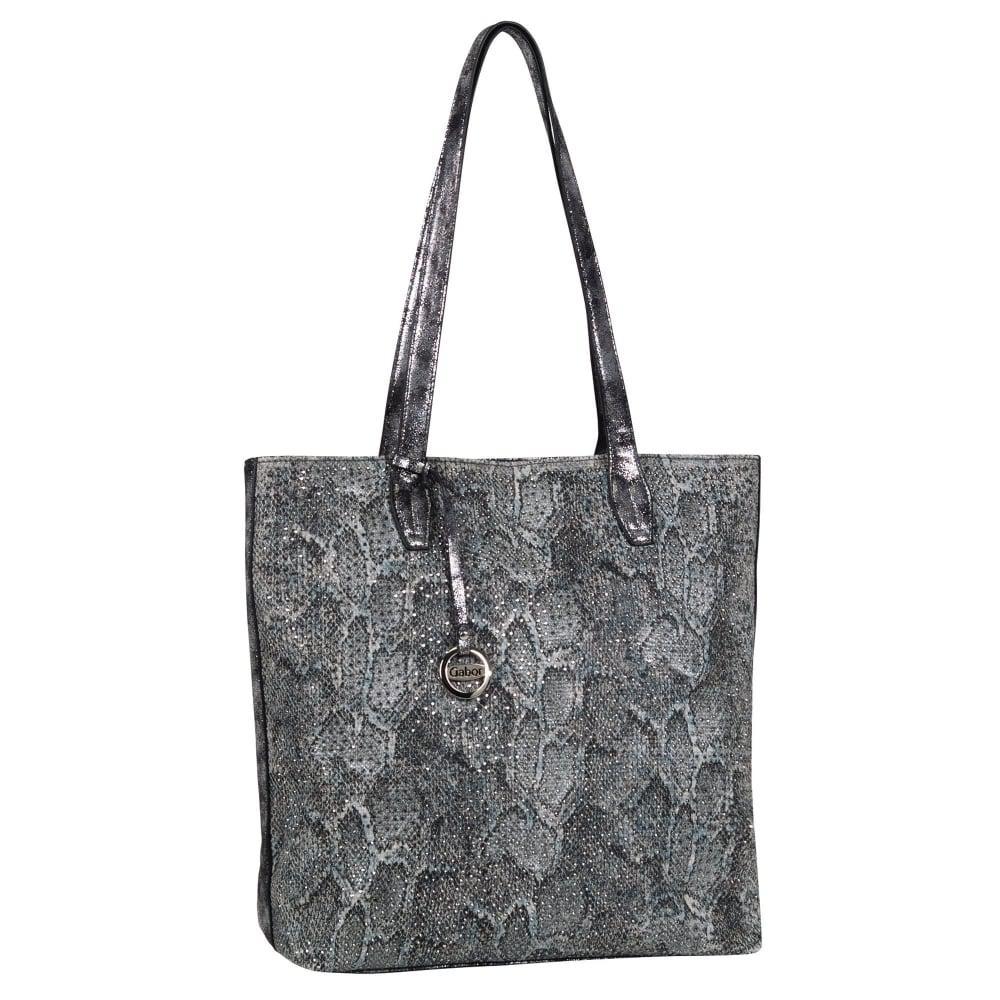 Charles clinkard Ancona Womens Shoulder Bag in Gray