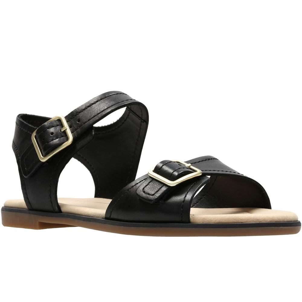 7c9f882bb2d Lyst - Clarks Bay Primrose Womens Sandals in Black