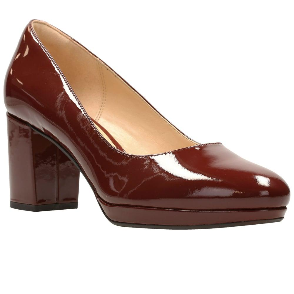 Clarks Brown Court Shoes