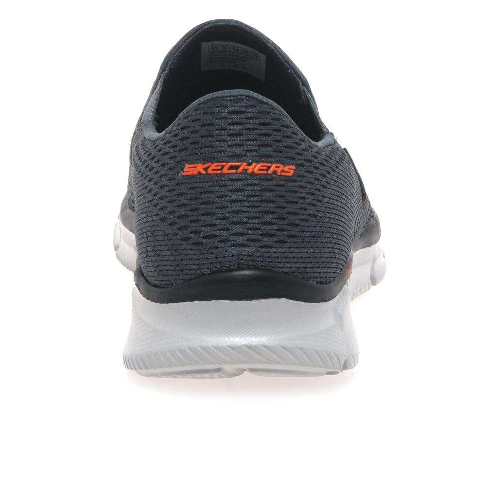 Skechers Equalizer Double Mens Slip On Sports Shoes for Men