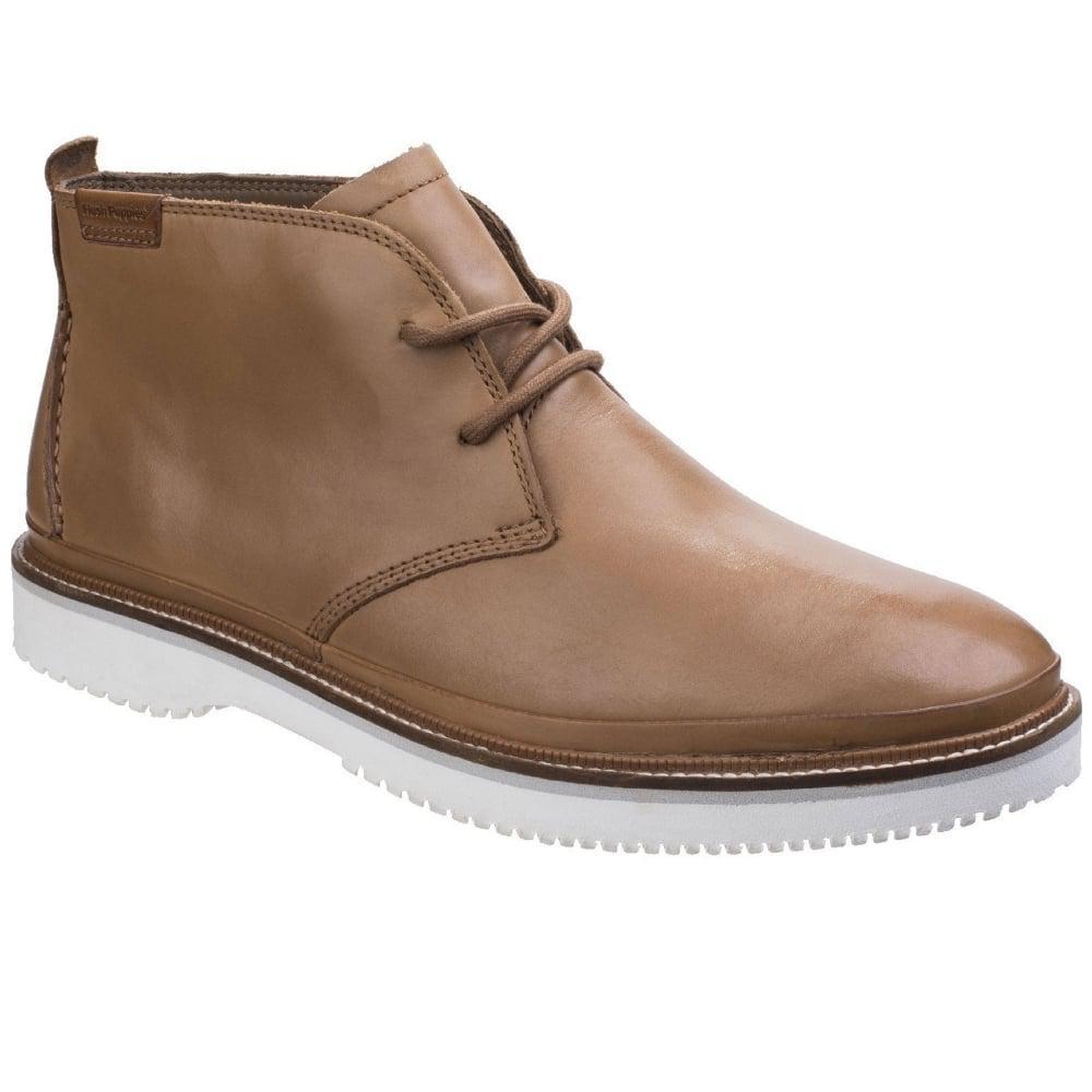 Mens Tan Chukka Shoes