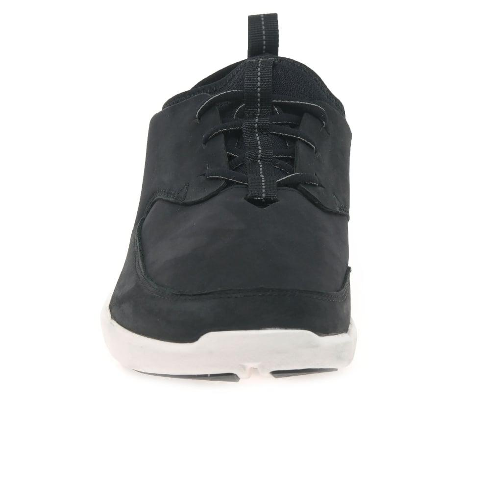 Clarks Lace Triflow Form Mens Casual Sports Shoes in Black for Men