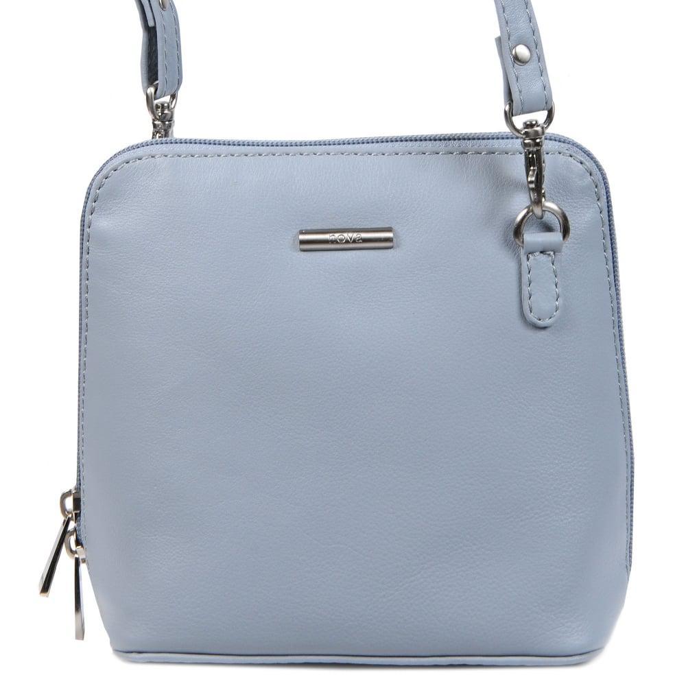 Charles clinkard Thelma Womens Messenger Bag in Blue