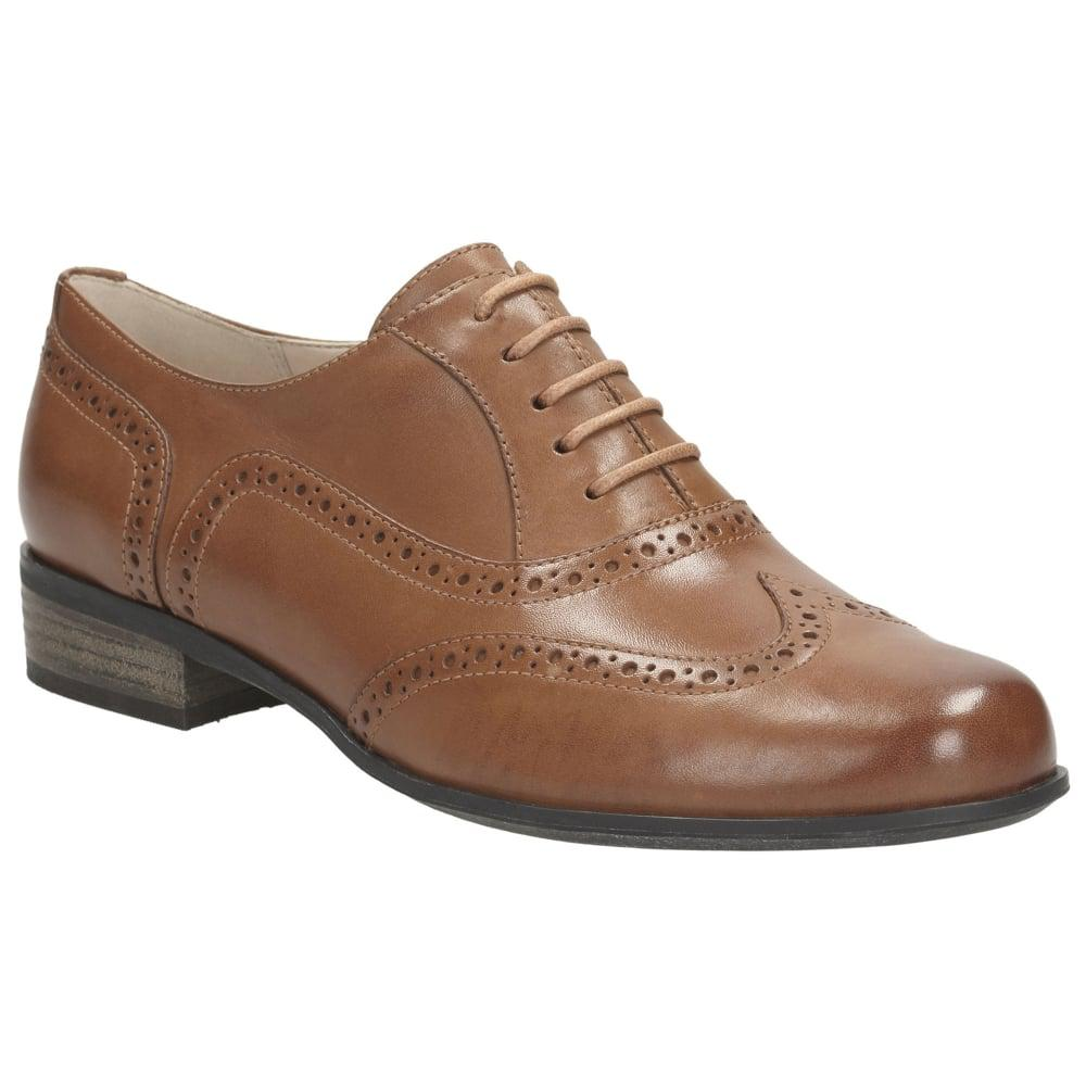 Womens Casual Hamble Oak Leather Shoes Clarks I2fb2jni