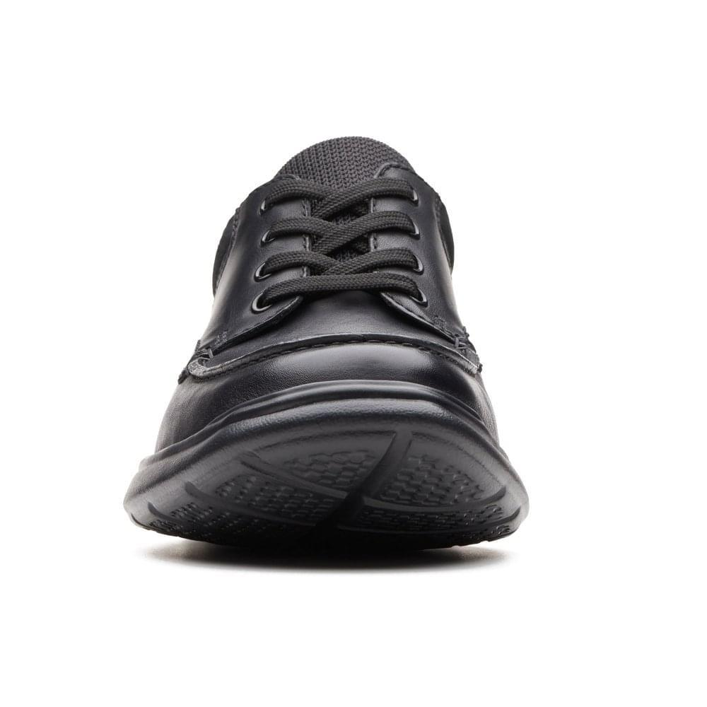 f98b6f81ada Clarks - Black Cotrell Edge Mens Casual Leather Lace Up Shoes for Men -  Lyst. View fullscreen