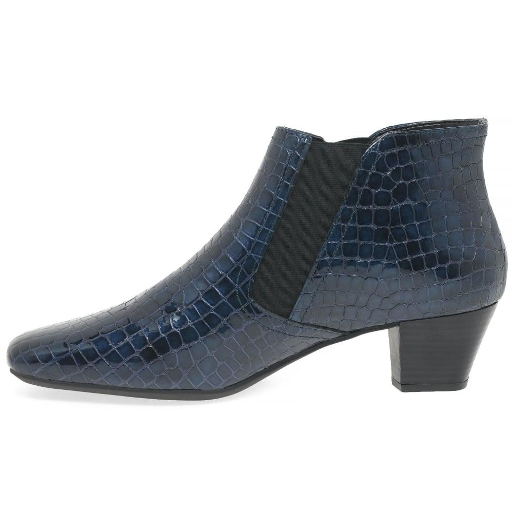 3be3bd6f1ff06 Charles Clinkard Handson Womens Ankle Boots in Blue - Lyst