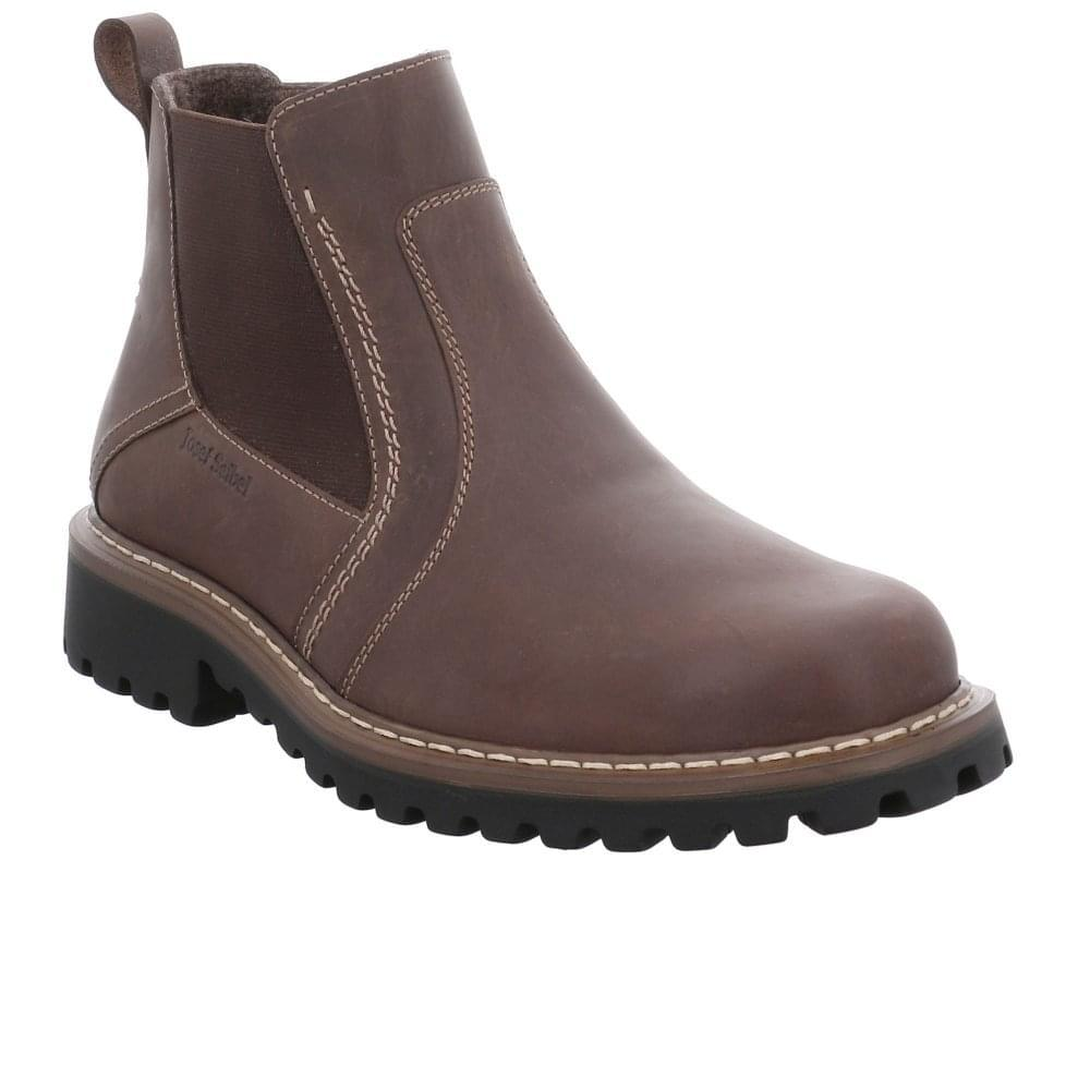 b507765670a78 Josef Seibel Chance 43 Mens Chelsea Boots in Brown for Men - Lyst