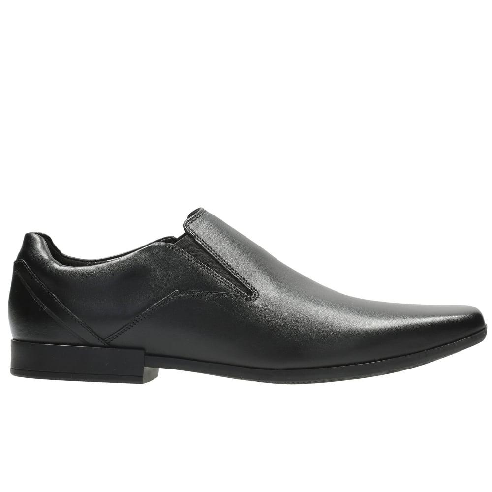 889a1c8208a Clarks - Black Glement Slip Mens Narrow Formal Slip On Shoes for Men -  Lyst. View fullscreen