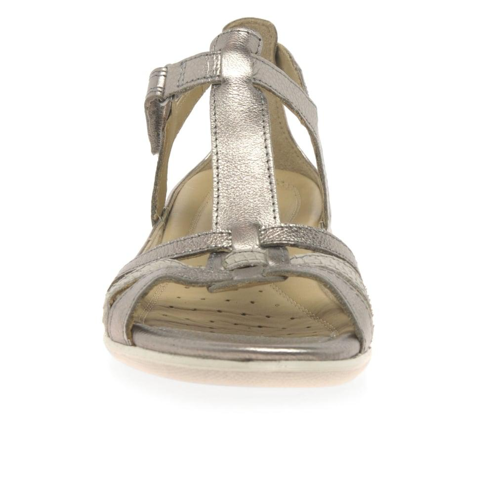 22d6455c Ecco Multicolor Flash Ii Womens Leather Sandals