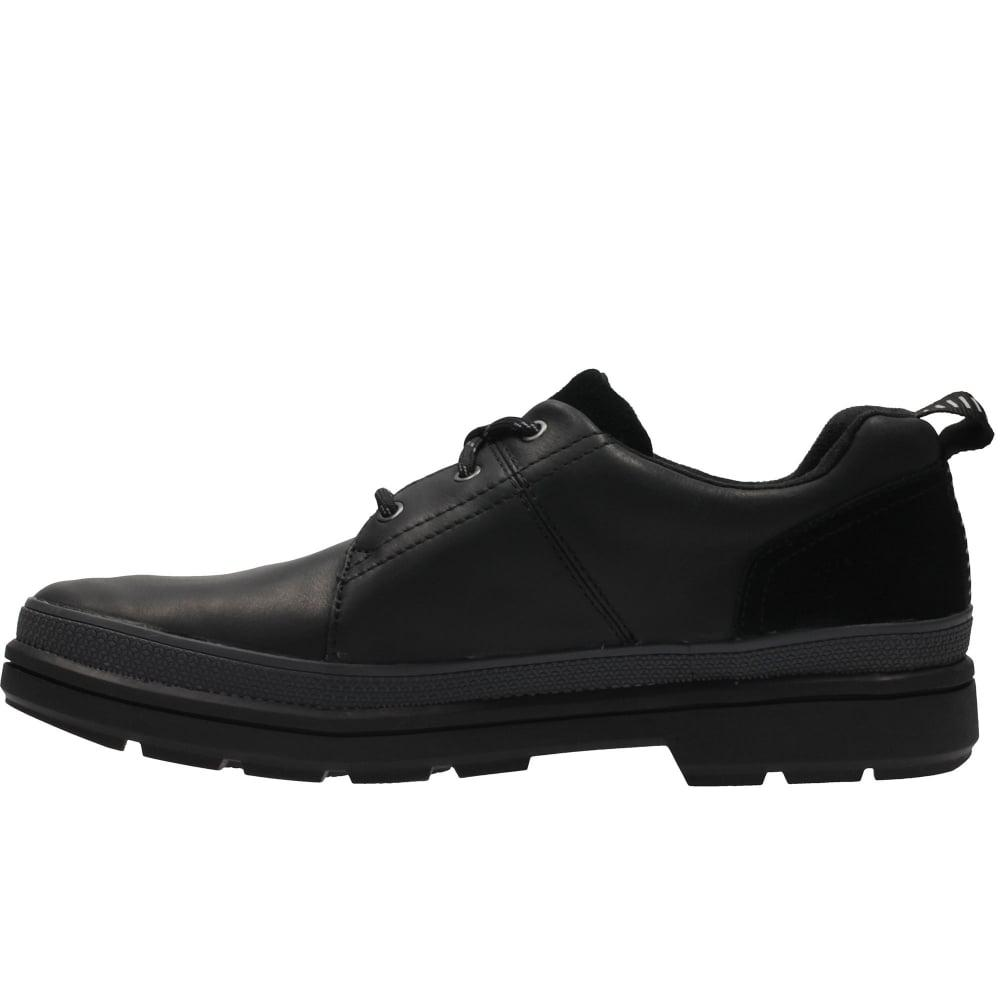 Mens Shoes Cleated Sole Black Formal