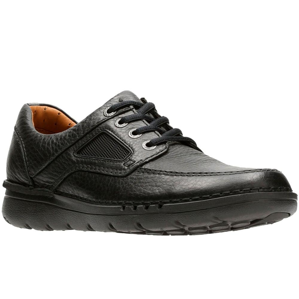 Clarks Unnature Time Mens Casual Shoes in Black for Men - Lyst