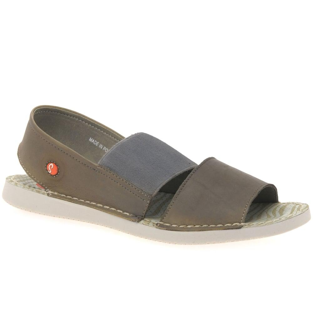 b1e1dbc9266 Lyst - Softinos Tai Womens Casual Washed Sandals in Gray