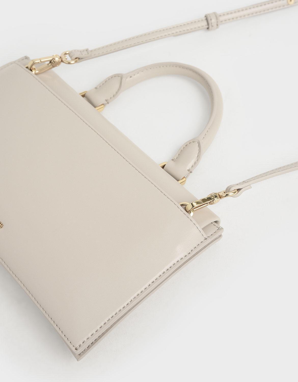 Rectangular top handle bag