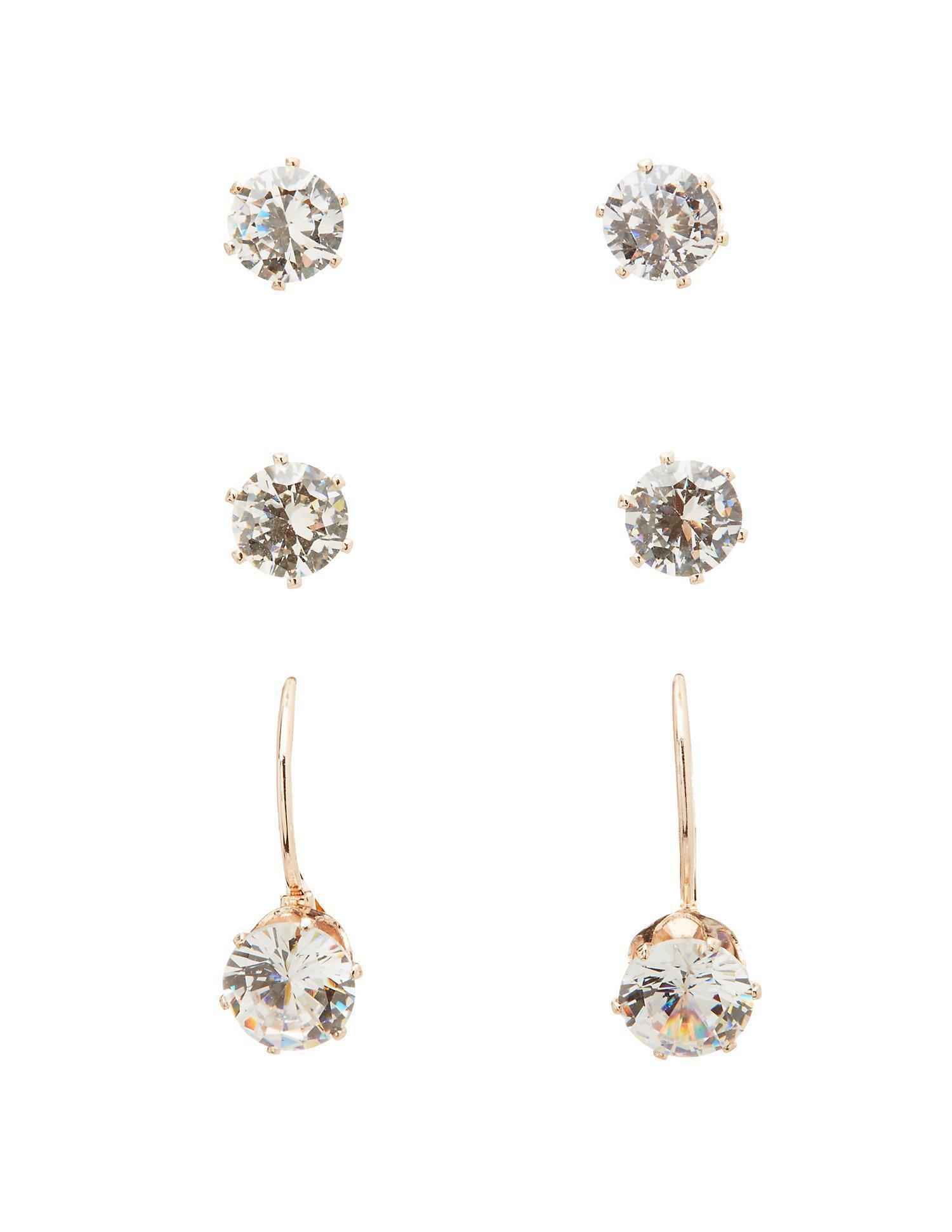 E.M. embellished stud earring - Metallic V2W3sisBAp
