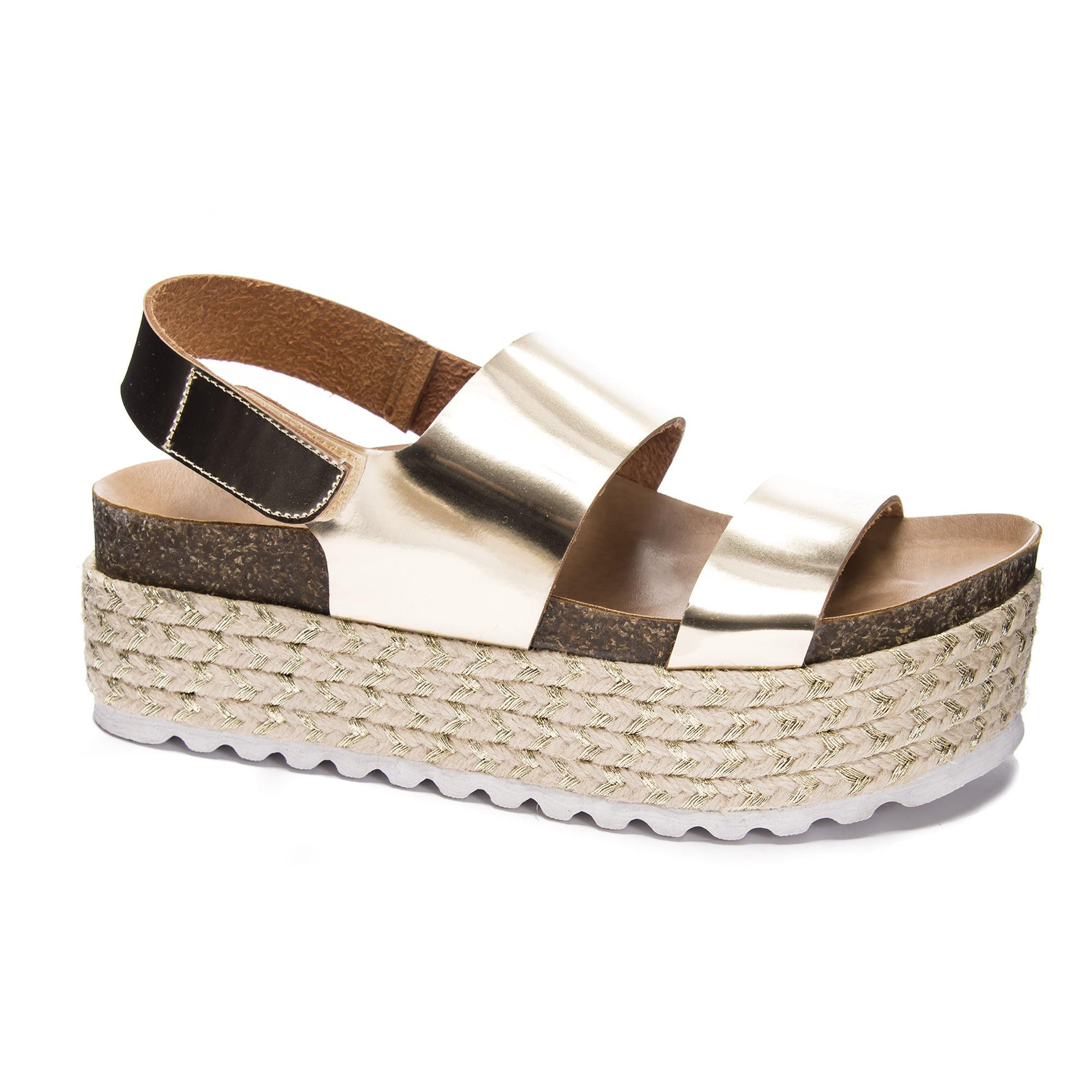 1bc7b4dccede Lyst - Dirty Laundry Peyton Platform Sandal in Metallic
