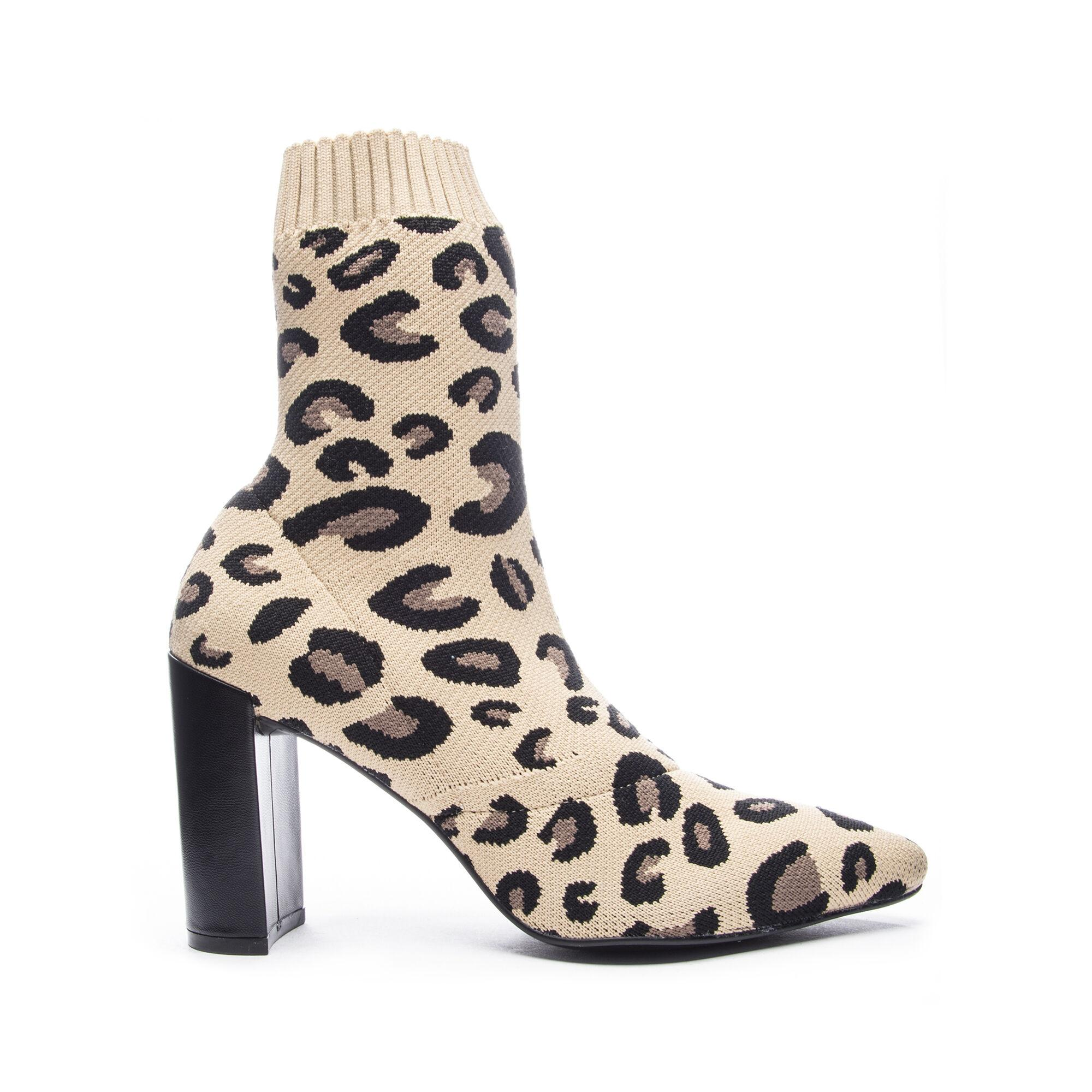 Chinese Laundry Raine Leopard Bootie - Lyst
