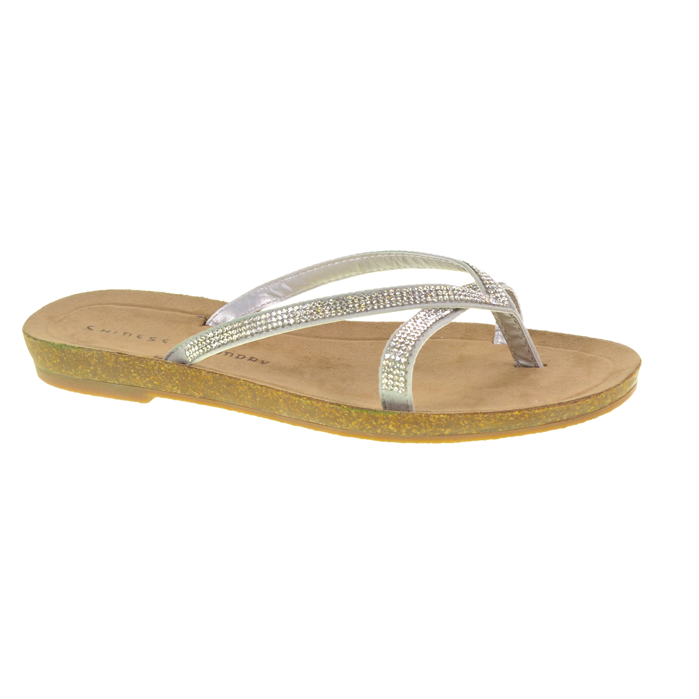 Lyst Chinese Laundry Noah Embellished Thong Sandal In
