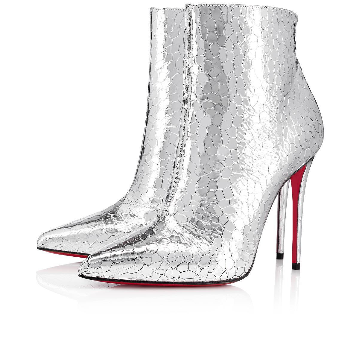 990e070eb9ff Christian Louboutin. Women s Metallic So Kate Booty Specchio Martele 100 ...