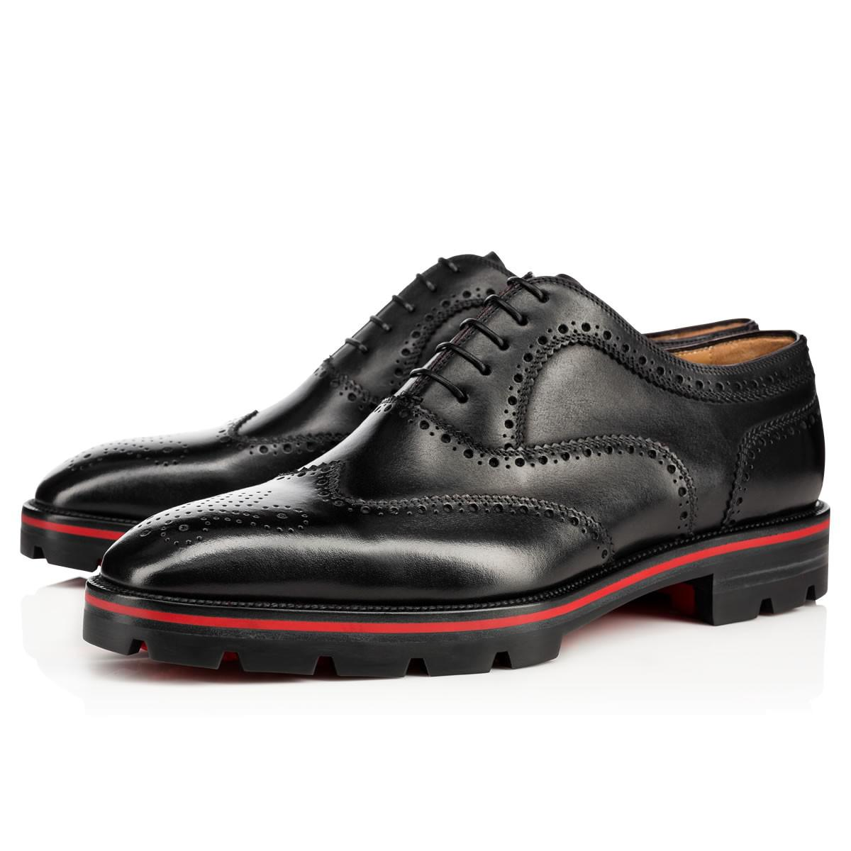 ee6c5f12144 Lyst - Christian Louboutin Charlie Me Flat in Black for Men