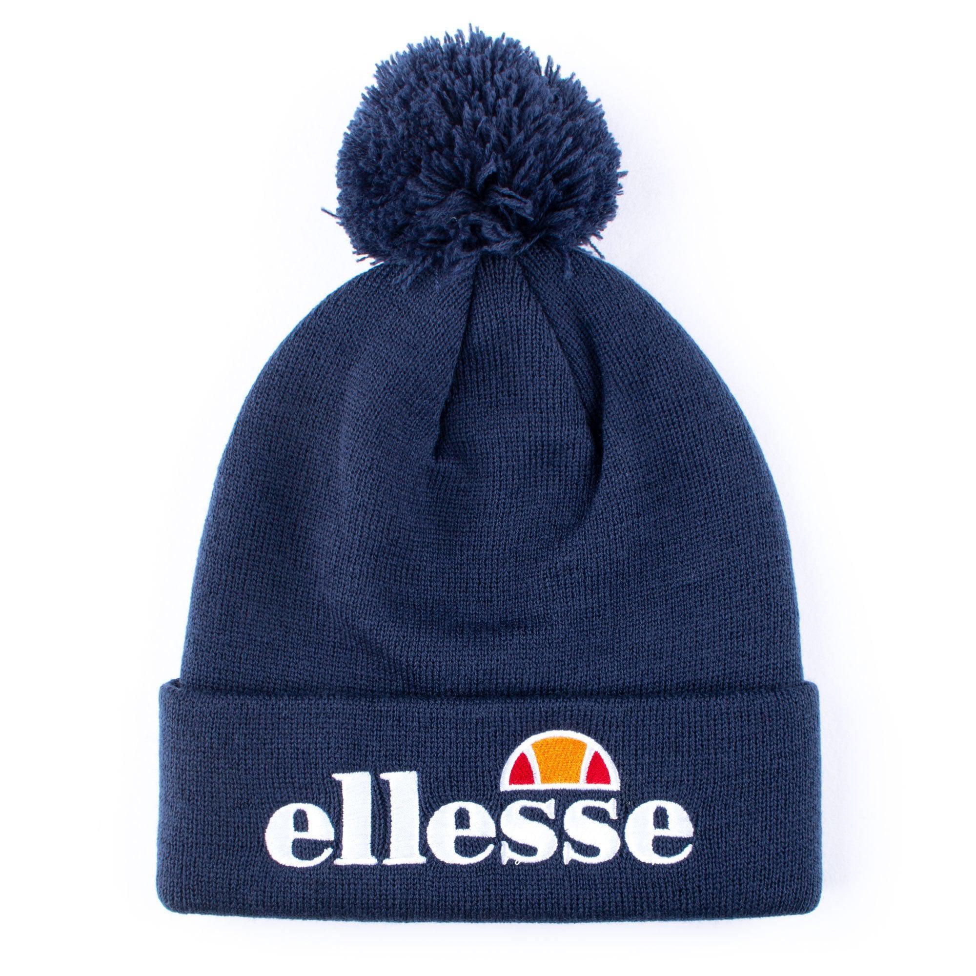 5267d742 Ellesse Velly Pom Pom Beanie in Blue for Men - Lyst