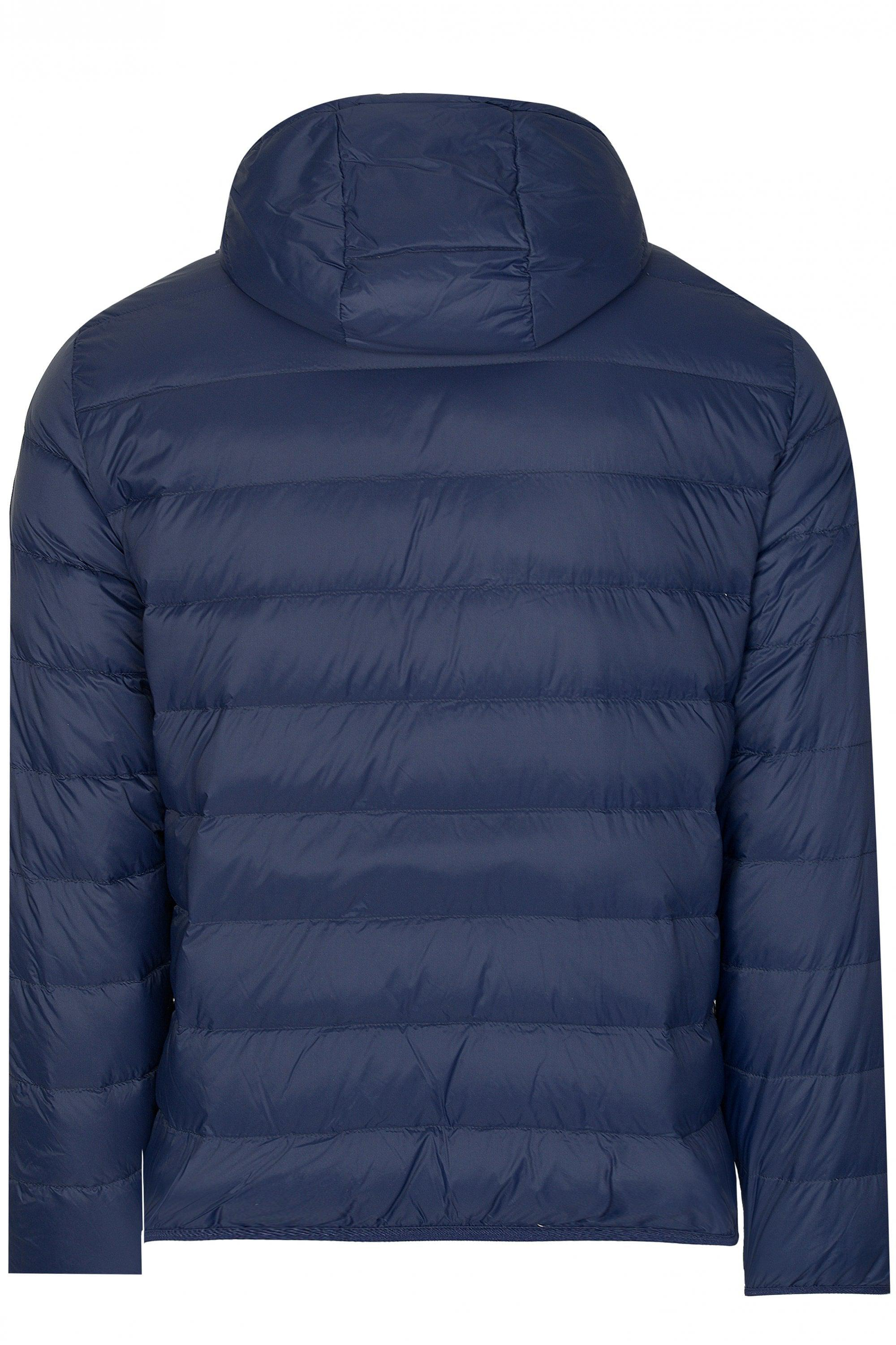 154a85b18 Emporio Armani Reversible Jacket in Blue for Men - Lyst
