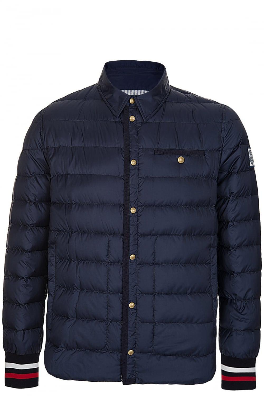 2eab3a7c1430 Moncler Gamme Bleu Padded Jacket in Blue for Men - Lyst