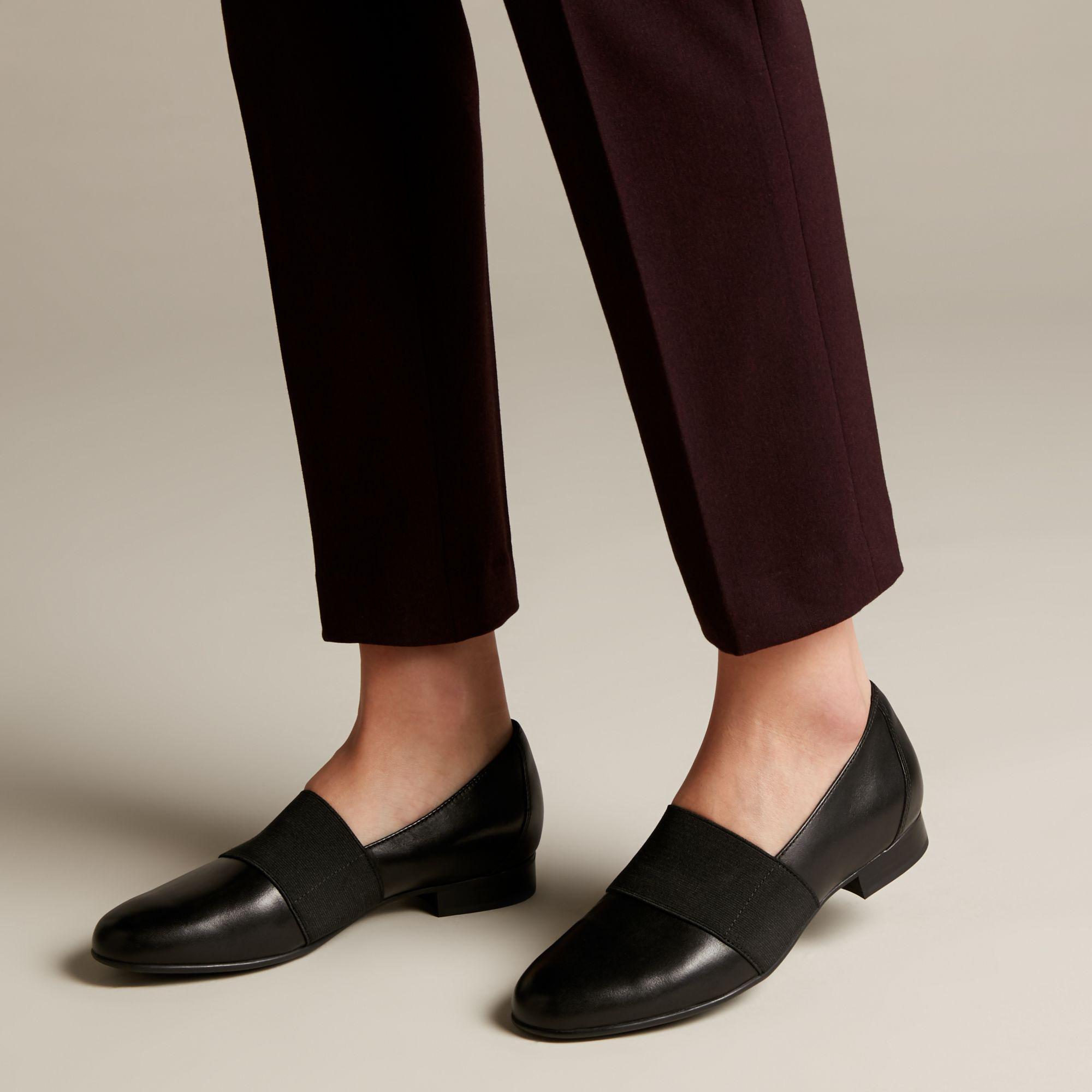 75864f50fdc7e Clarks - Black Un Blush Lo Leather Loafer - Lyst. View fullscreen