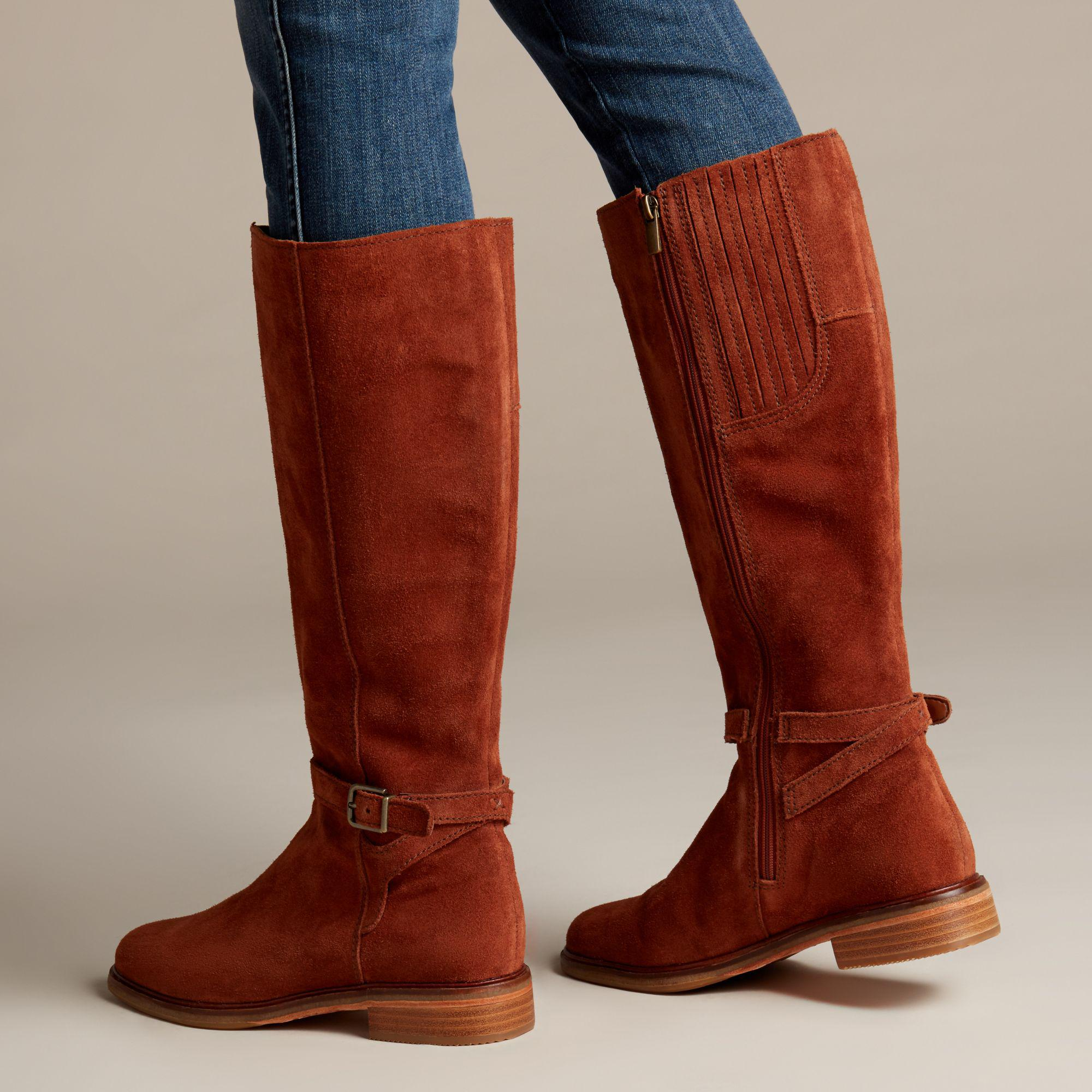 CLARKS Womens Clarkdale Clad Boot