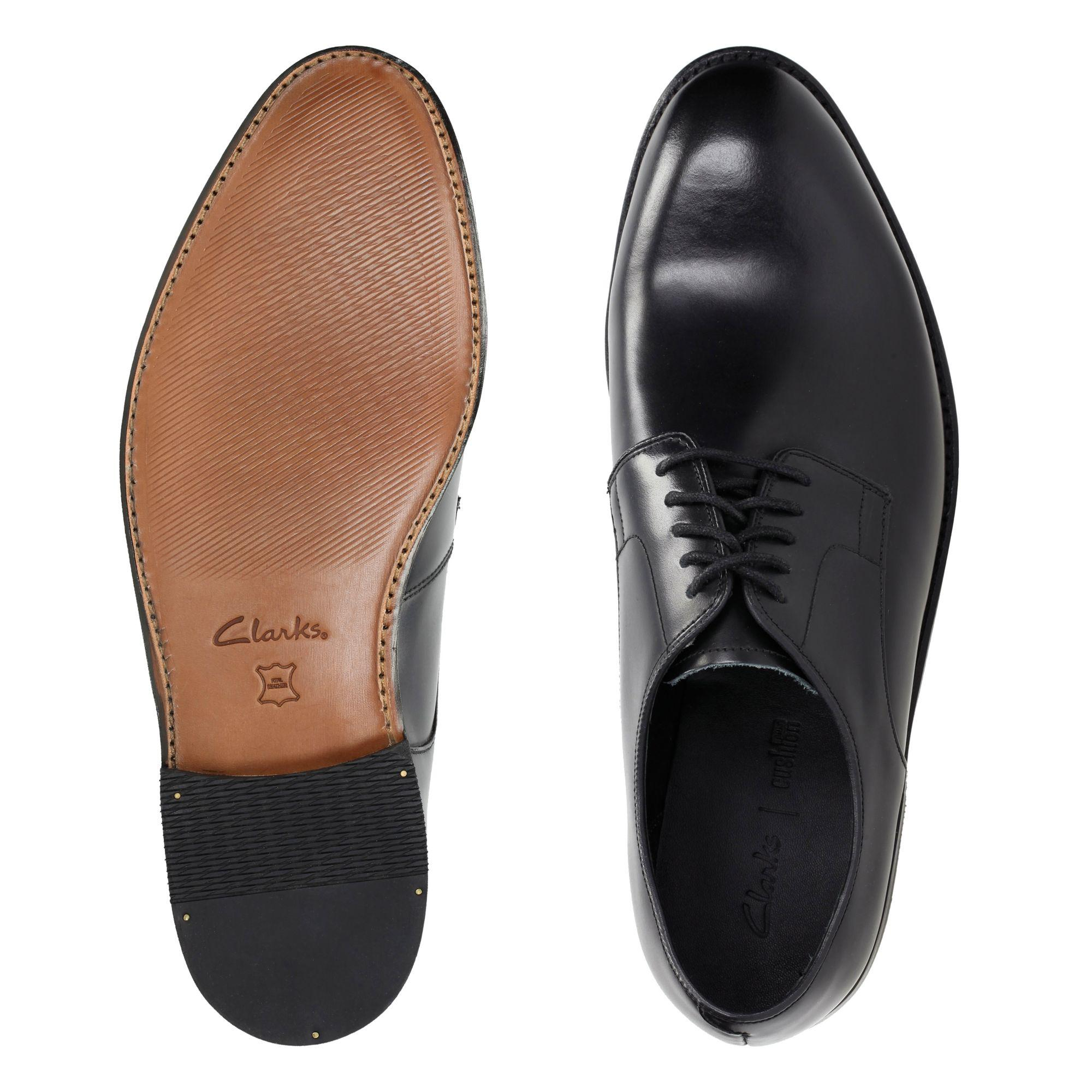 ad2c56551387e Clarks Ellis Leon in Black for Men - Lyst
