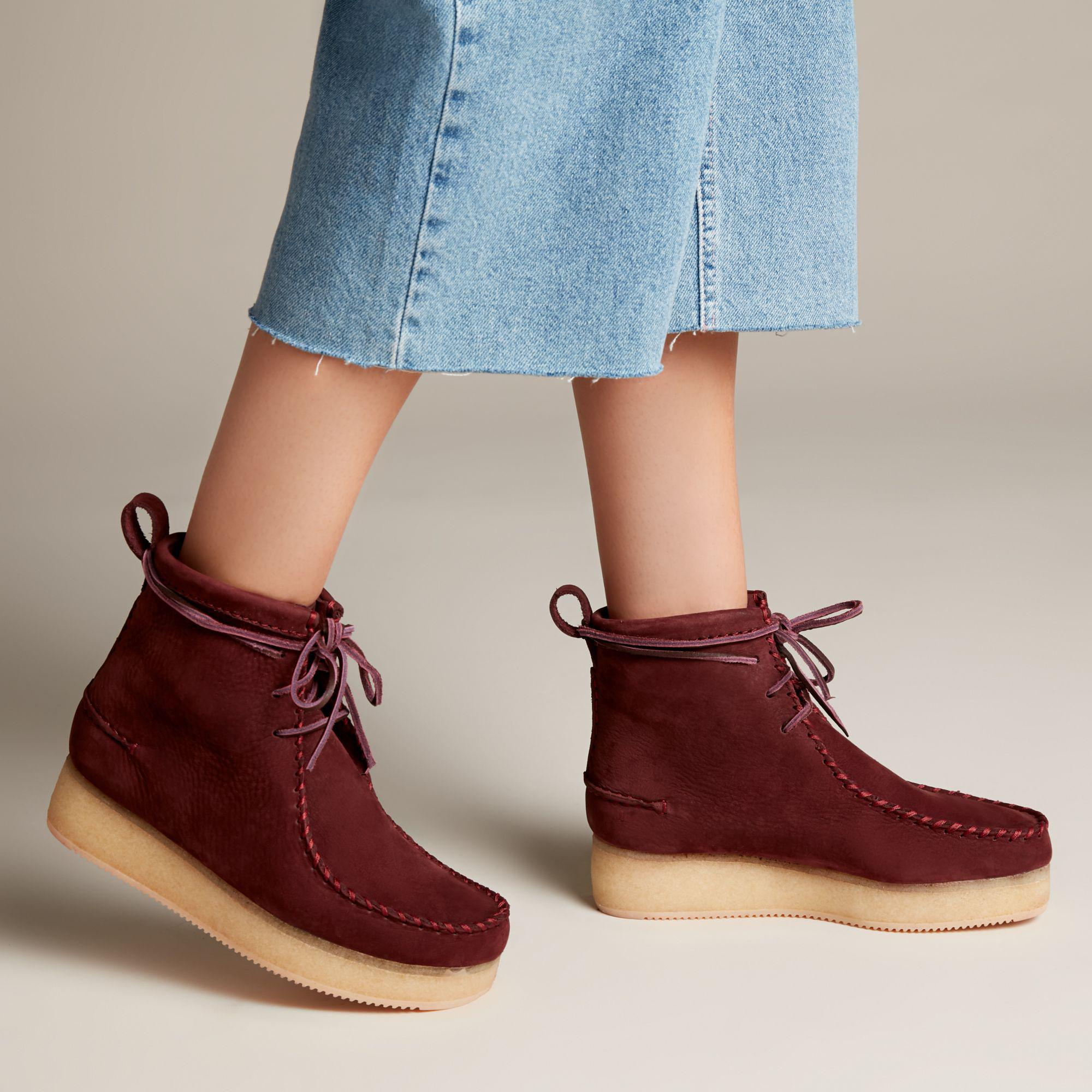 Clarks Leather Wallabee Craft - Lyst