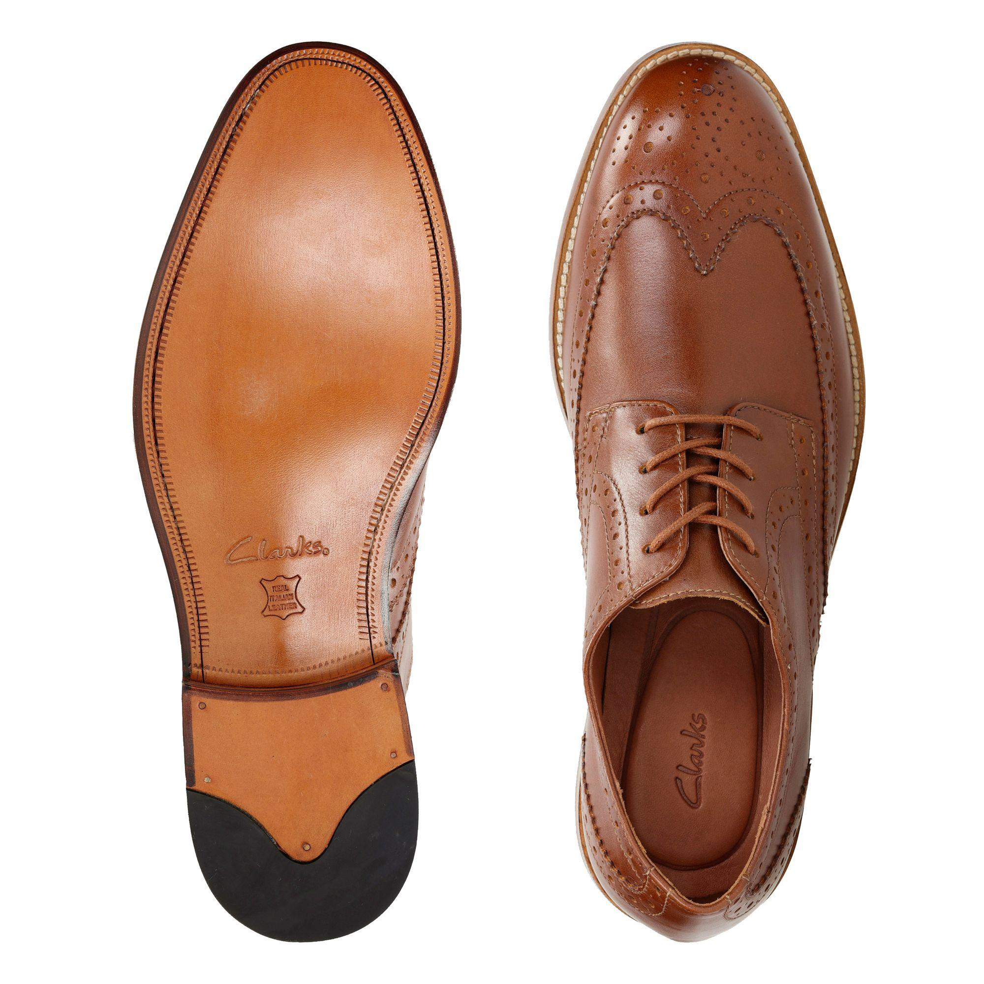 Dar Ópera Misterio  Clarks Leather James Wing in Tan Leather (Brown) for Men - Lyst