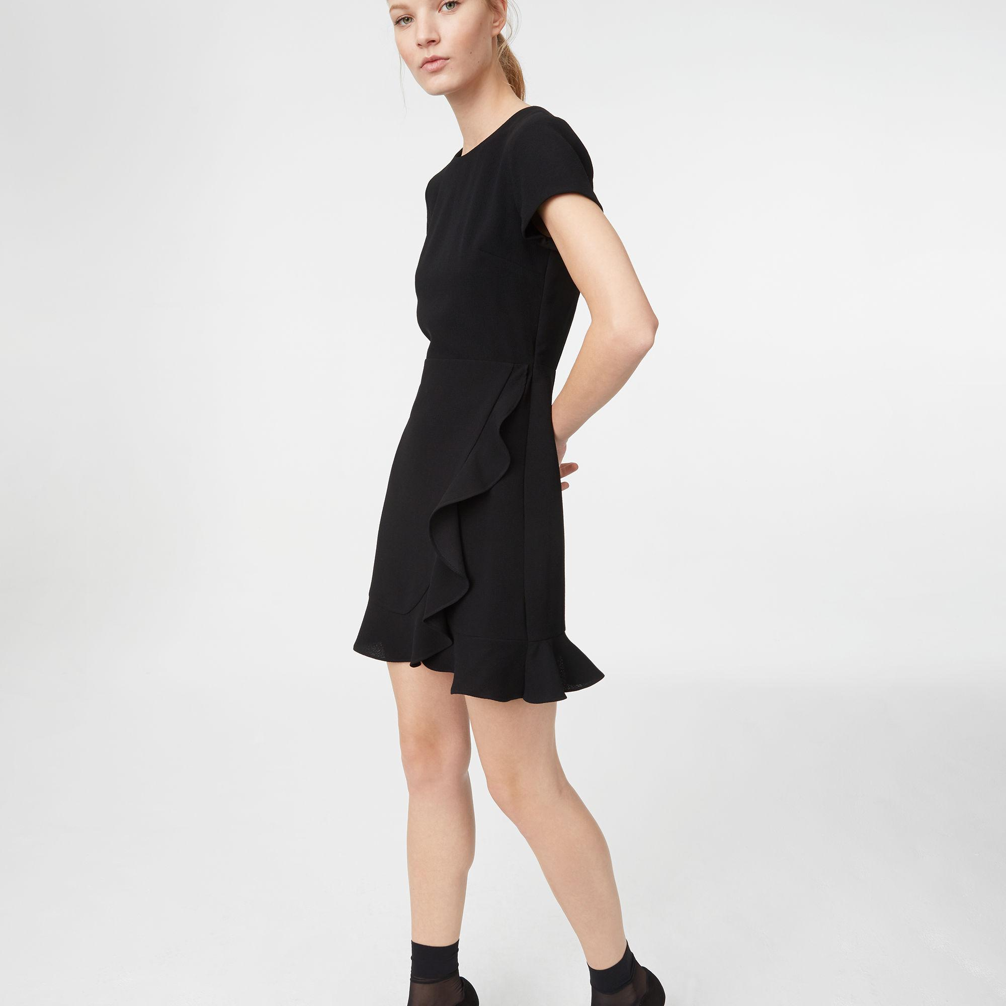 Club Monaco Larna Dress In Black Lyst