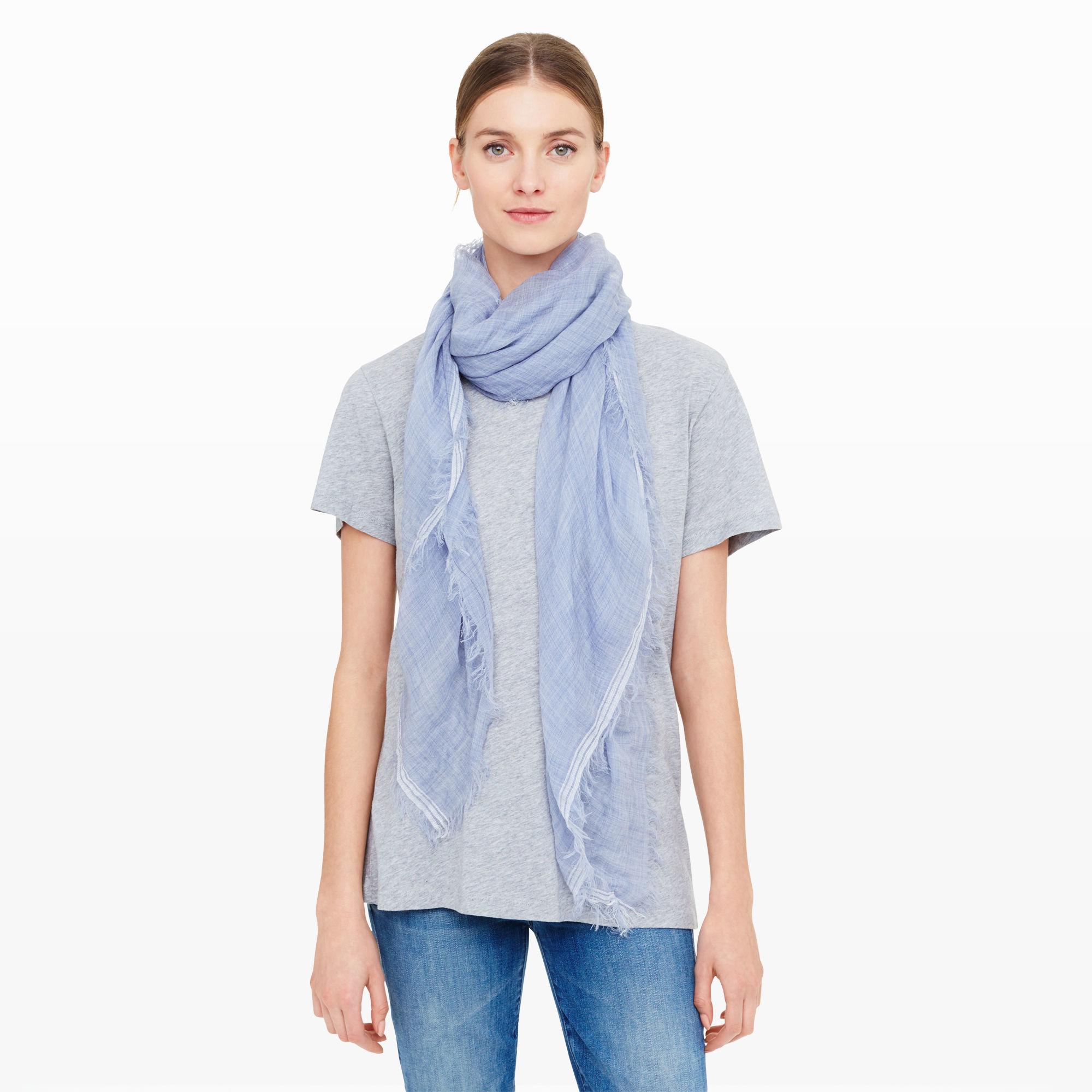 club monaco thanda scarf in blue lyst