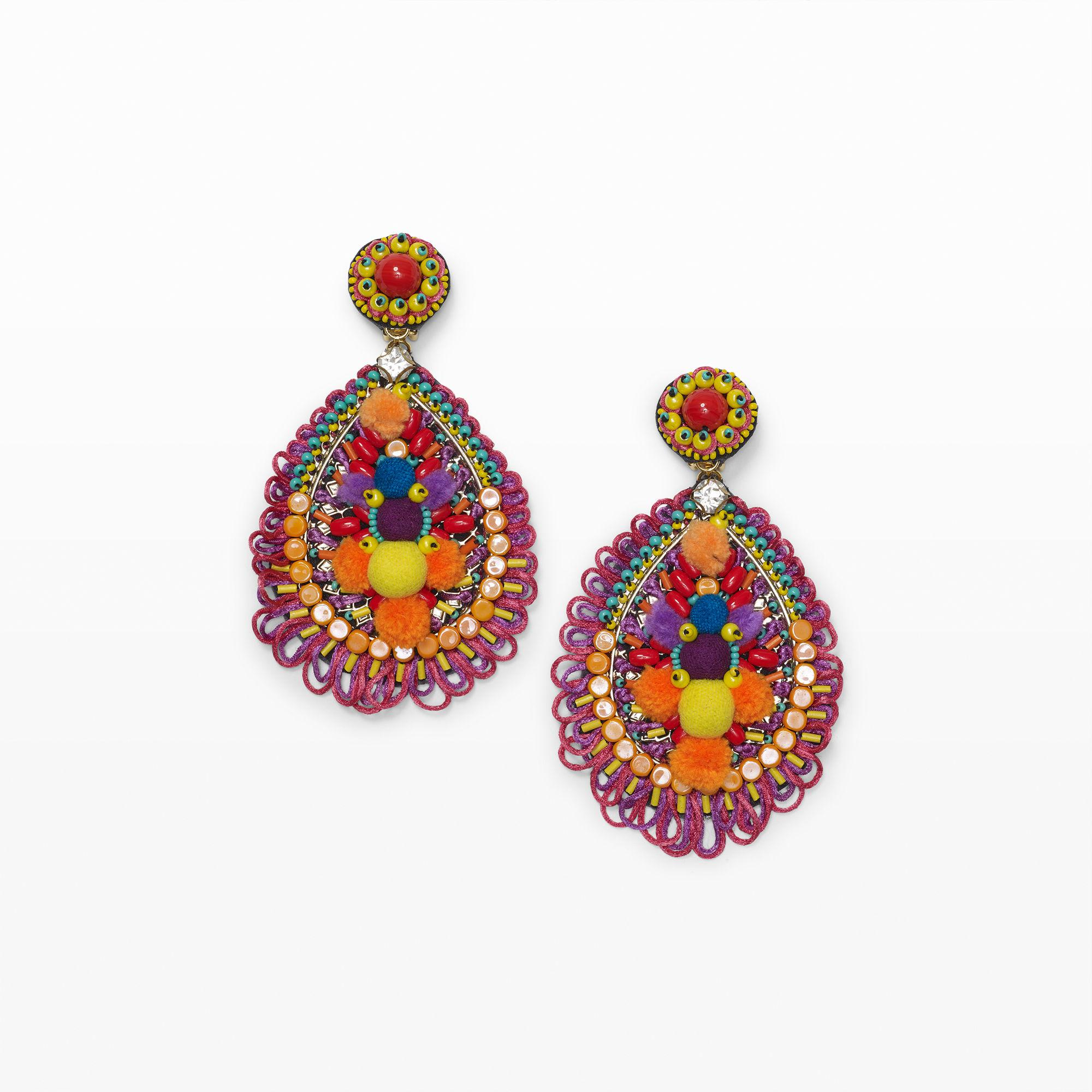 Ranjana Khan Pelican Mixed Drop Earrings jjDB4a3D