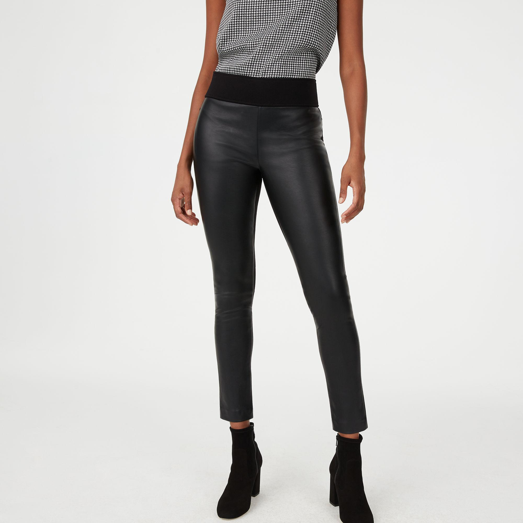58fbd86b88836 Club Monaco Tasha Faux Leather Legging in Black - Lyst