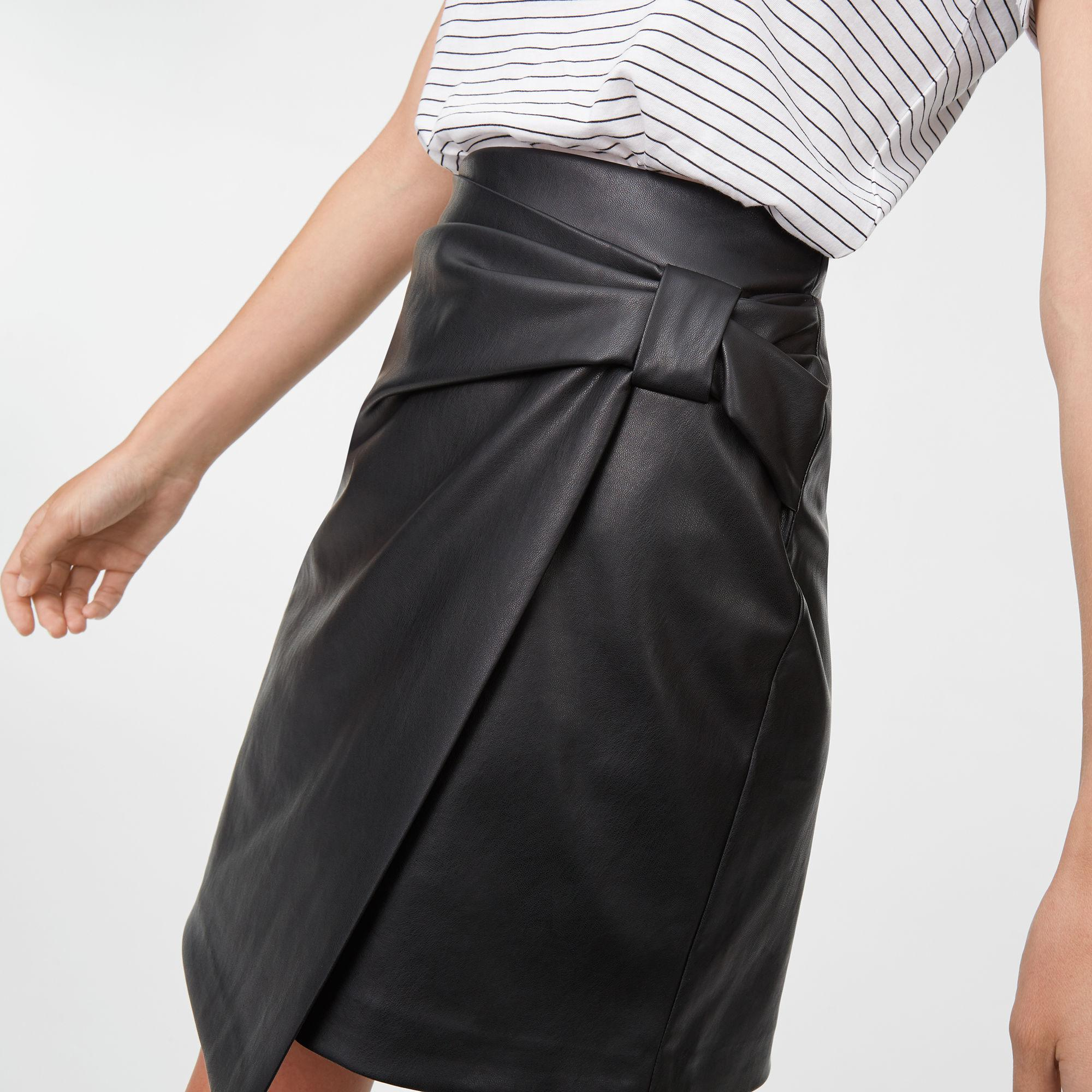 612a190dc7 Club Monaco Leather Skirt - Image Skirt and Slipper Imagepv.co