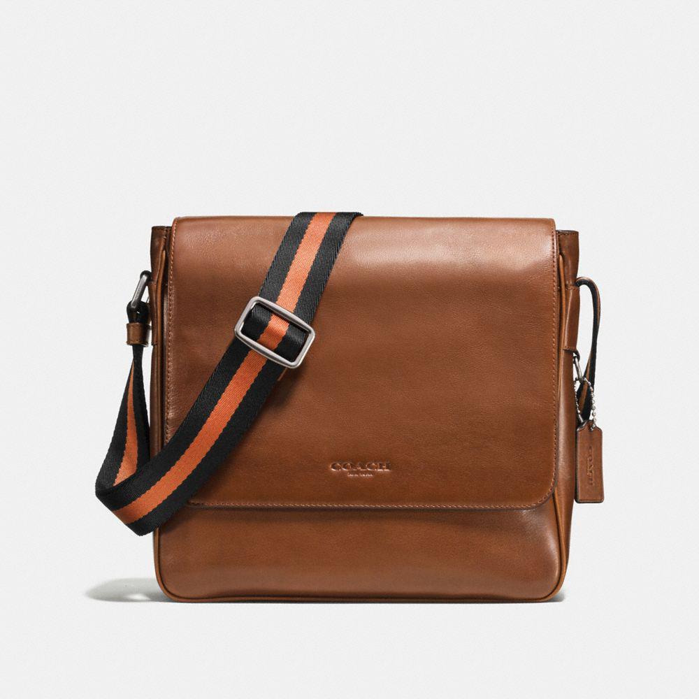 06eaac8176a9 Lyst - Coach Metropolitan Map Bag In Sport Calf Leather in Black ...