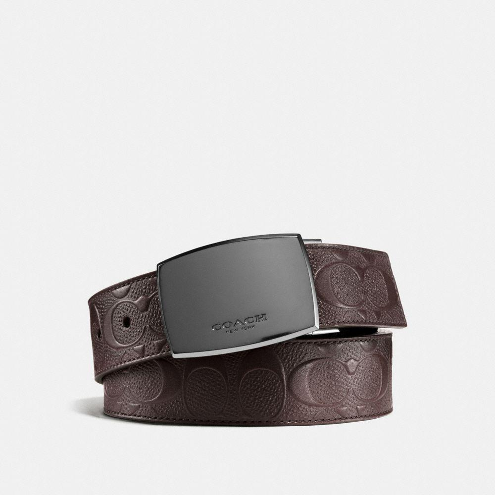 f466e8e96bba COACH. Men s Classic Plaque Cut-to-size Reversible Belt In Signature Leather