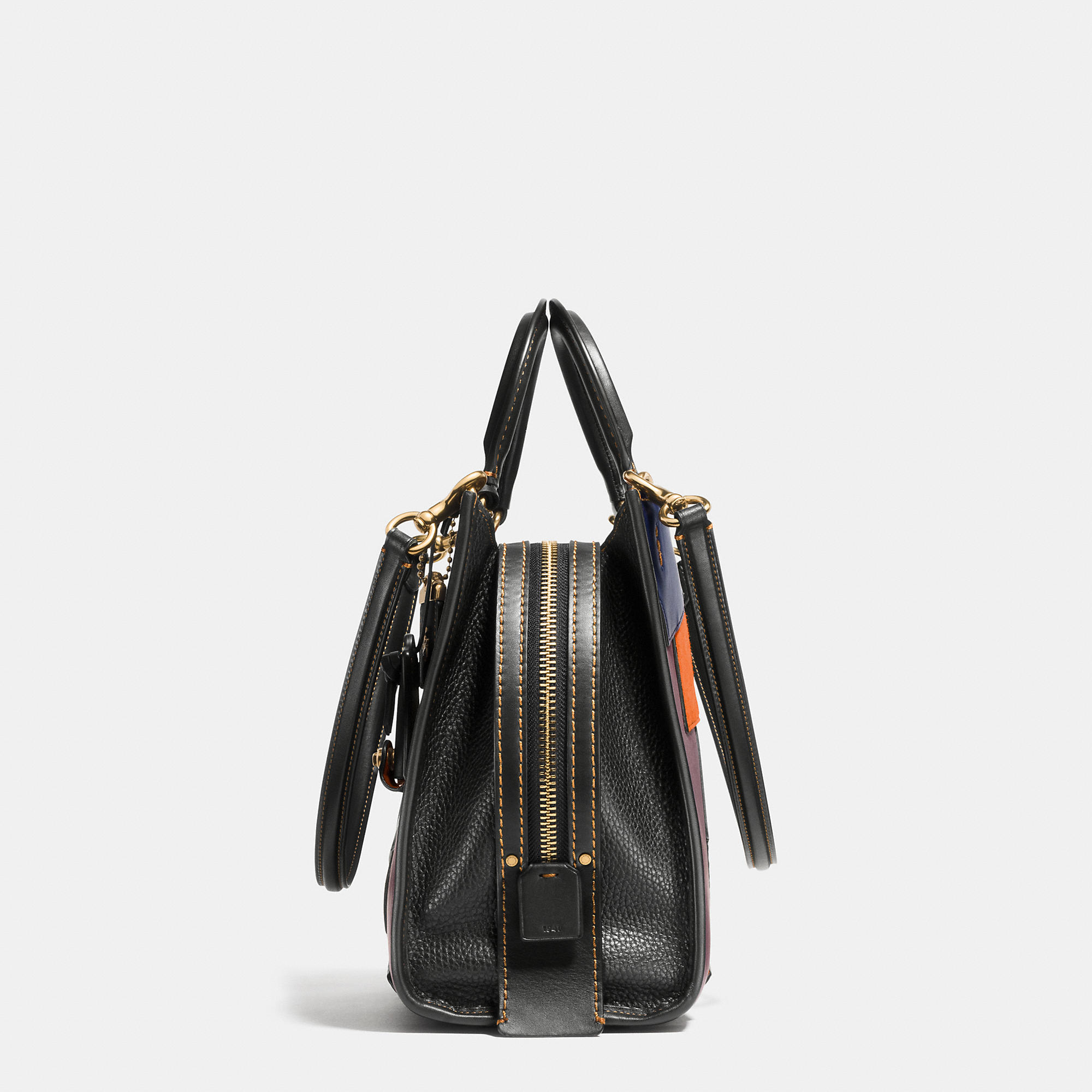 Coach Rogue Bag In Patchwork Leather in Black | Lyst