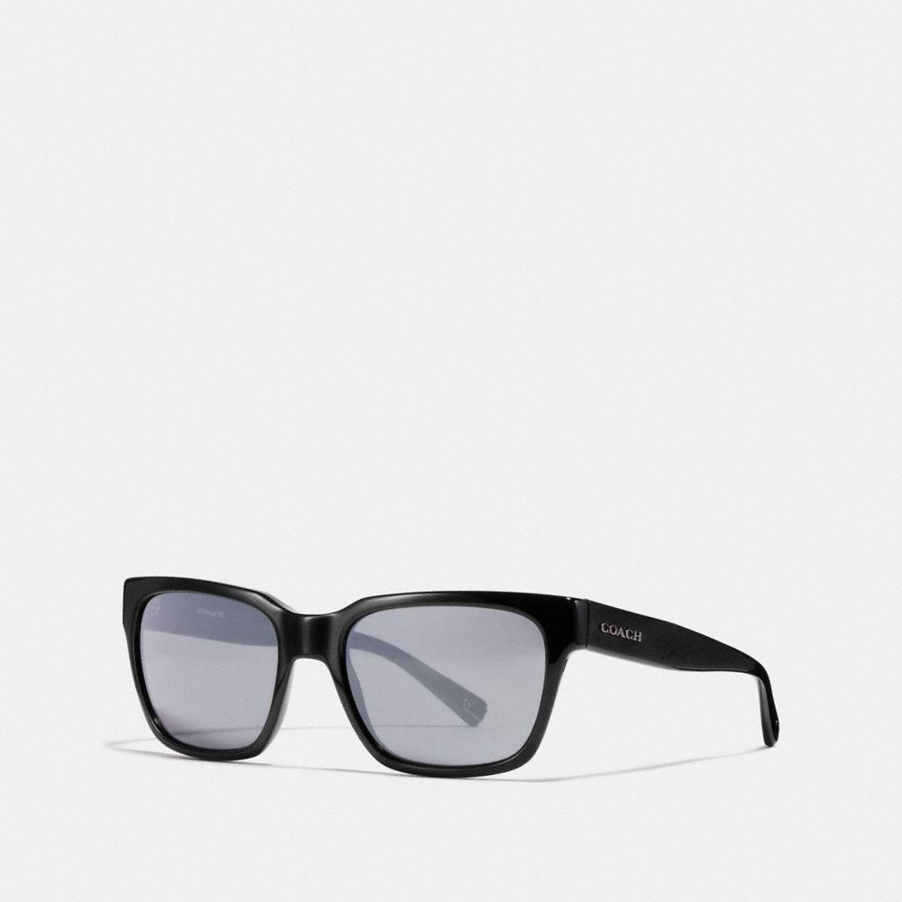 98ac87f5106f COACH Leroy Sunglasses in Black for Men - Lyst
