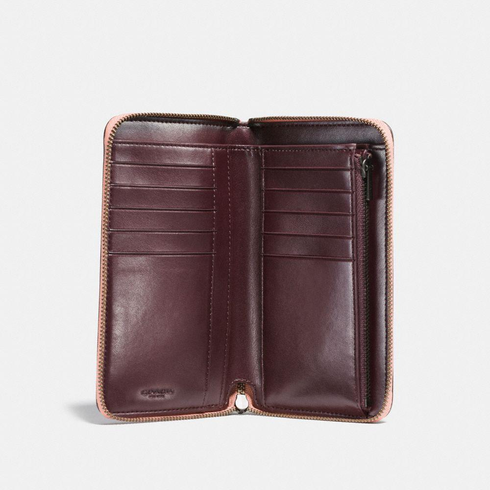 Bally Leather Double Zip-around Wallet in Brown - Lyst