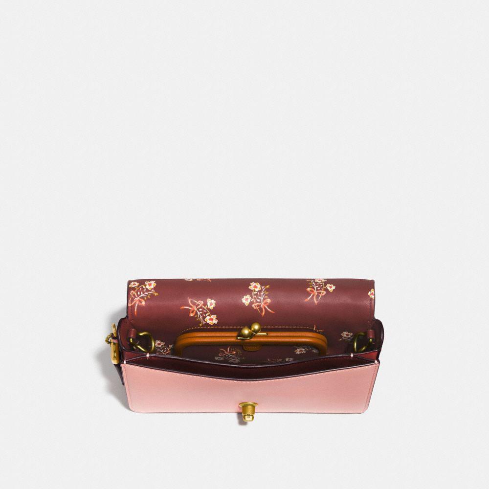Dinky Entraîneur En Cuir De Signature Avec Imprimé Floral Arc Intérieur Rose Glace / Cuivre Noir Pas Cher De La France Vente Boutique braderie WKfJCR4